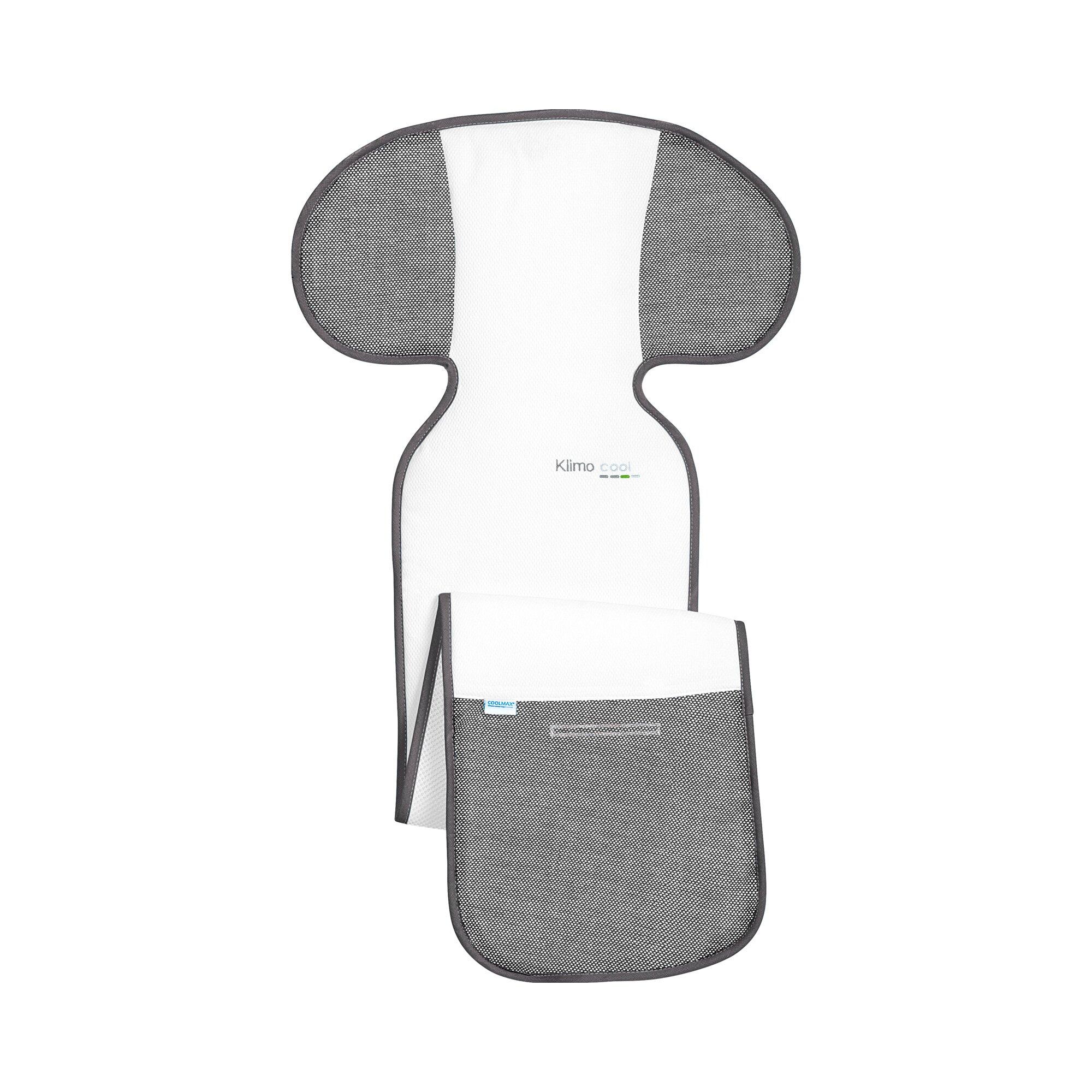 Odenwälder Sitzauflage Baby-Cool für Autositze Gruppe 2/3 grau