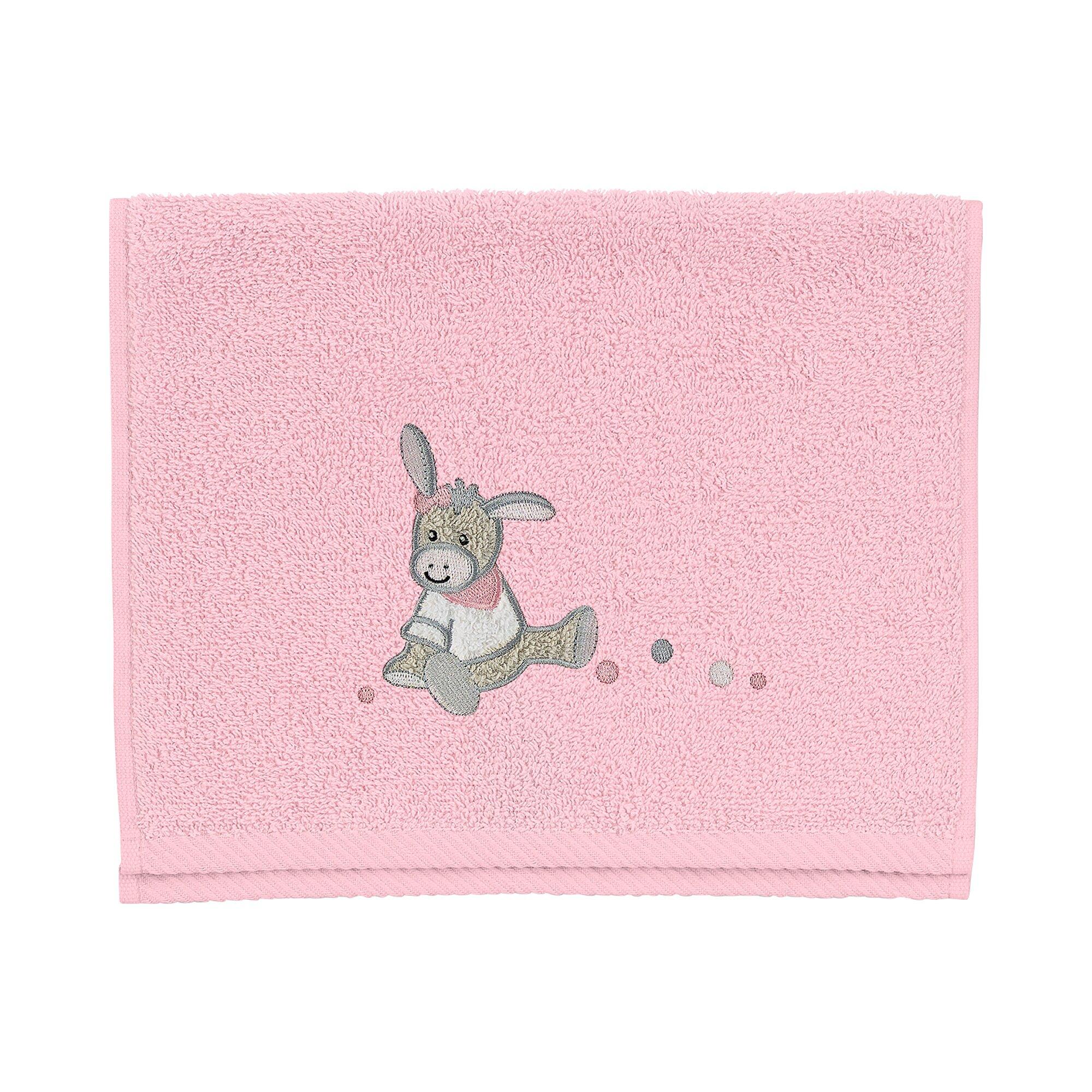 Sterntaler Kinderhandtuch 30x50 cm rosa