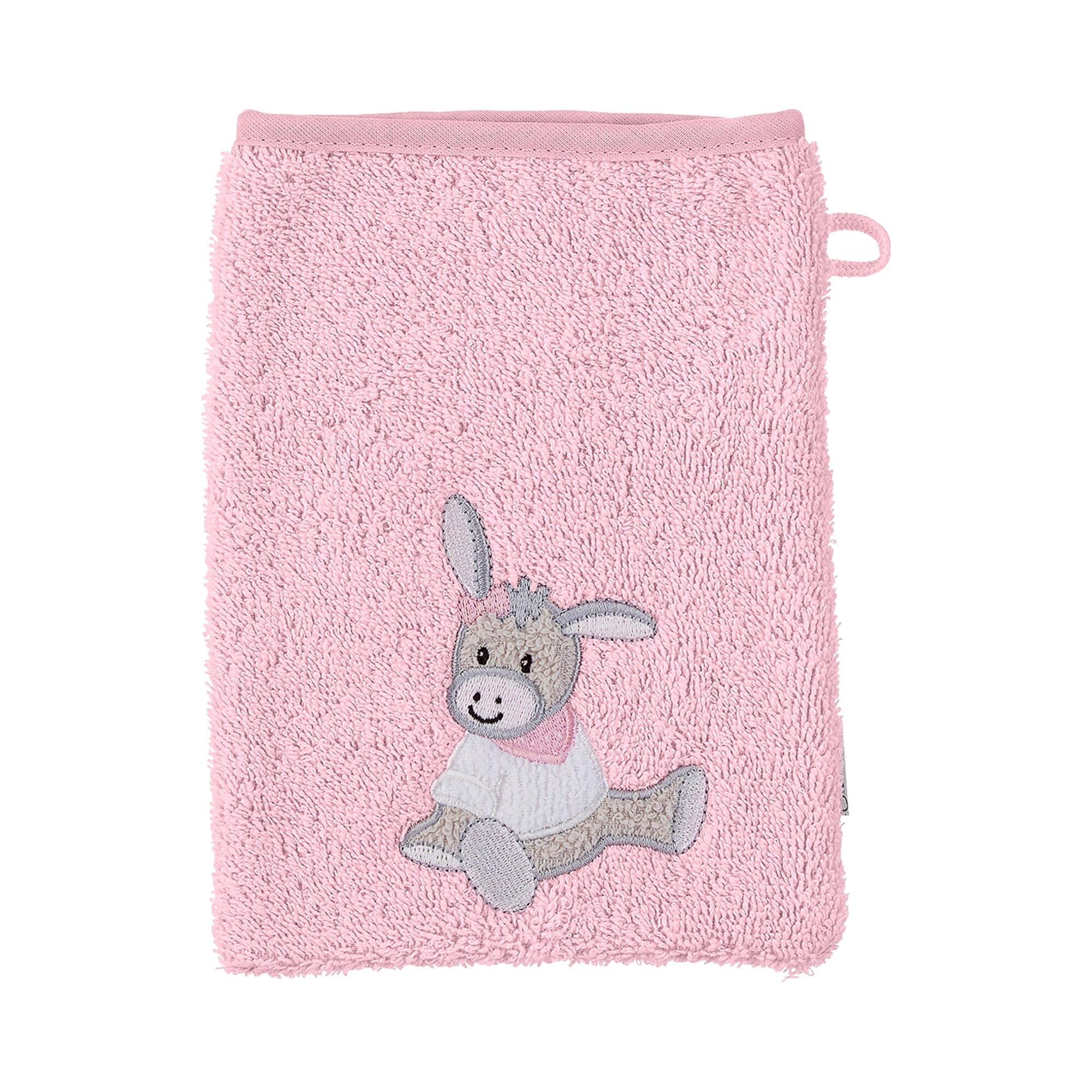 Sterntaler Waschlappen rosa