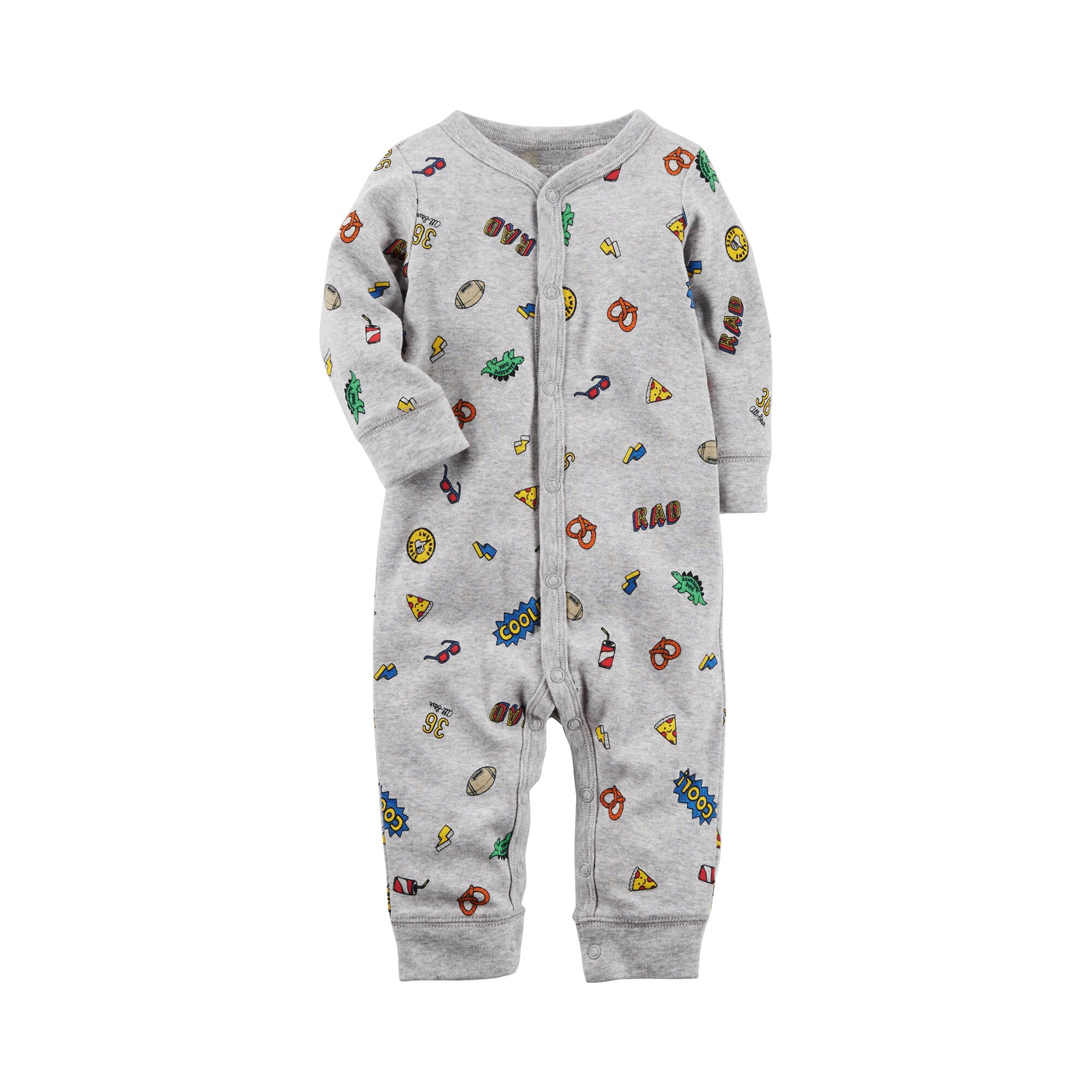 Carter´S Overall Cool Mixprint