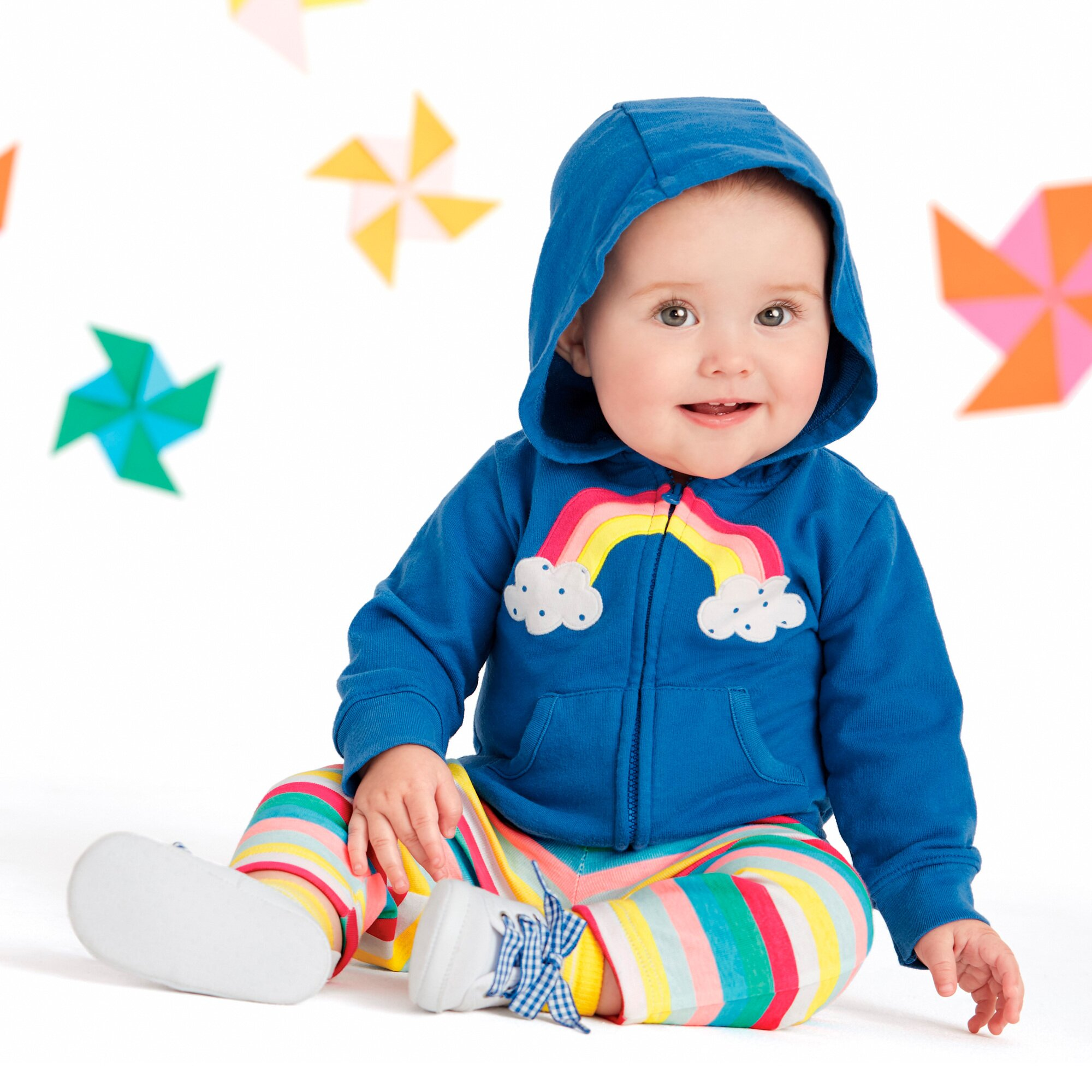 carter-s-3-tlg-set-sweatjacke-body-kurzarm-und-leggings-regenbogen