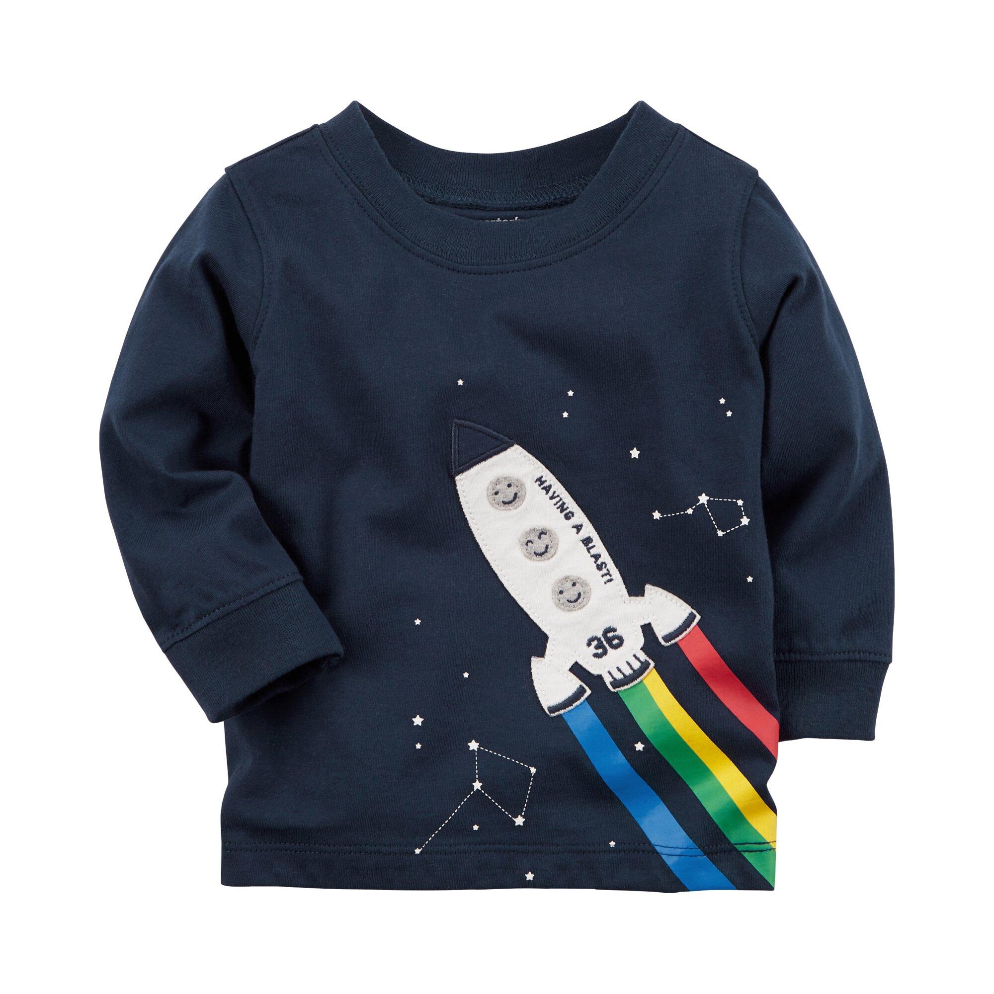 Carter´S Shirt langarm Rakete