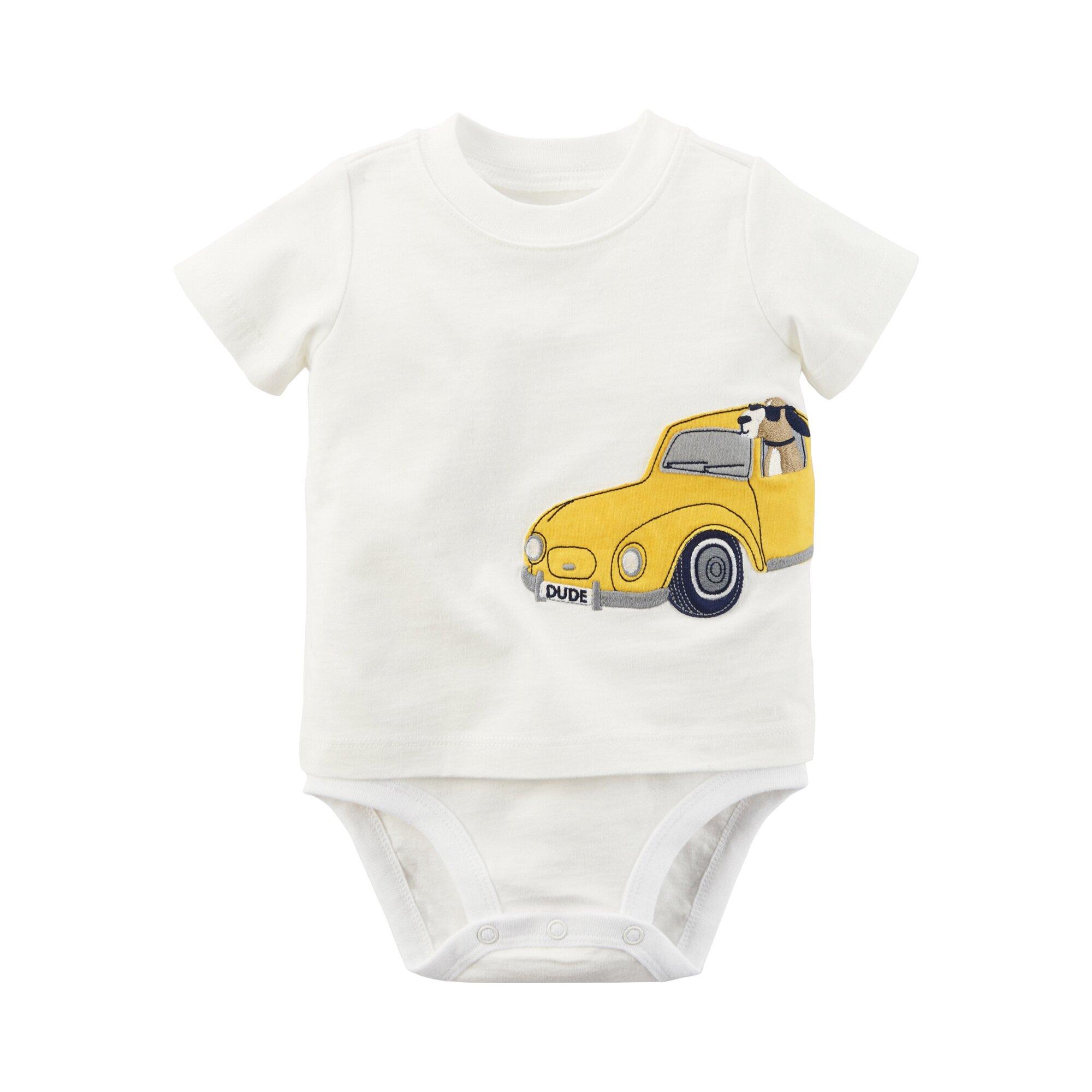 Carter´S Shirt-Body kurzarm Auto