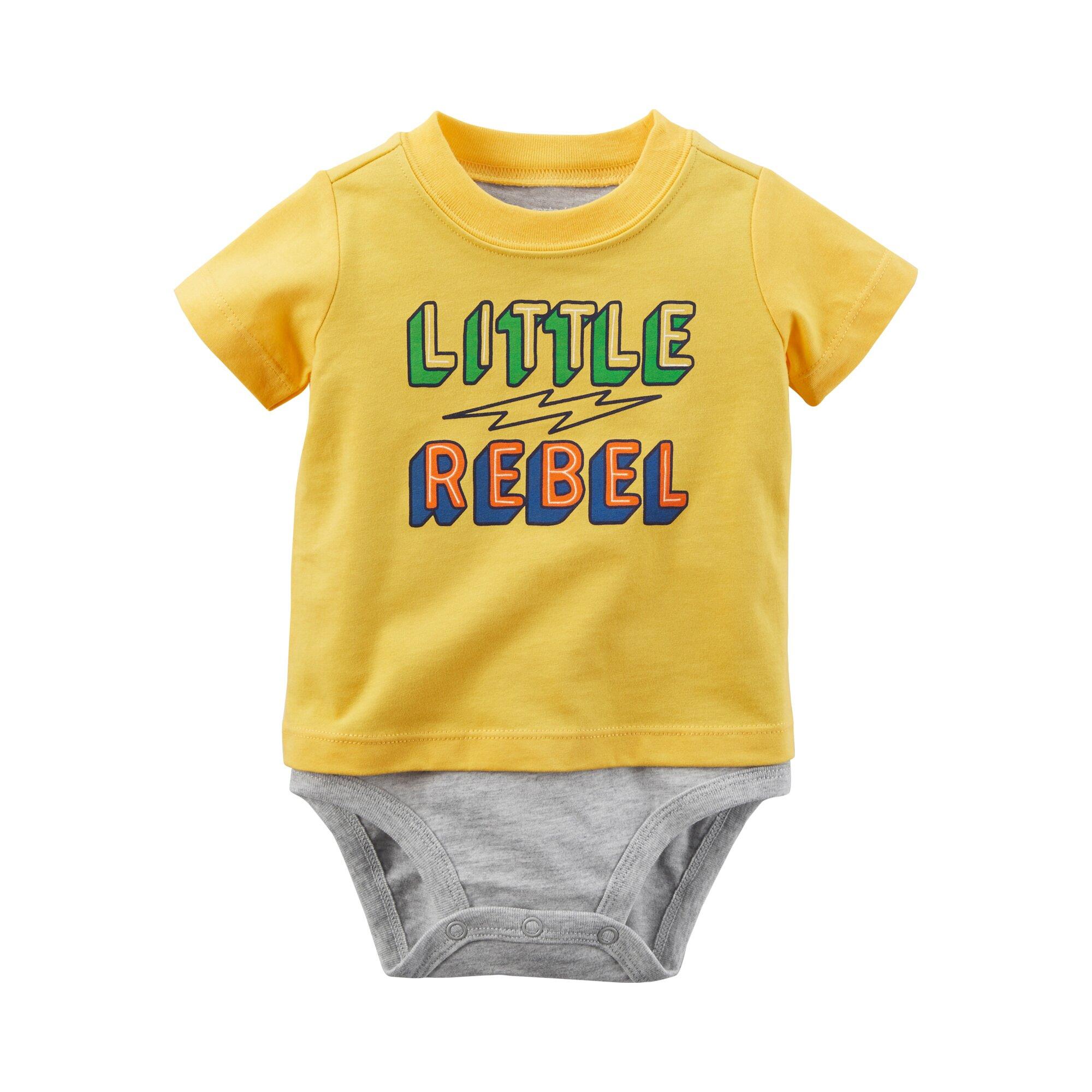 Carter´S Shirt-Body kurzarm little Rebel