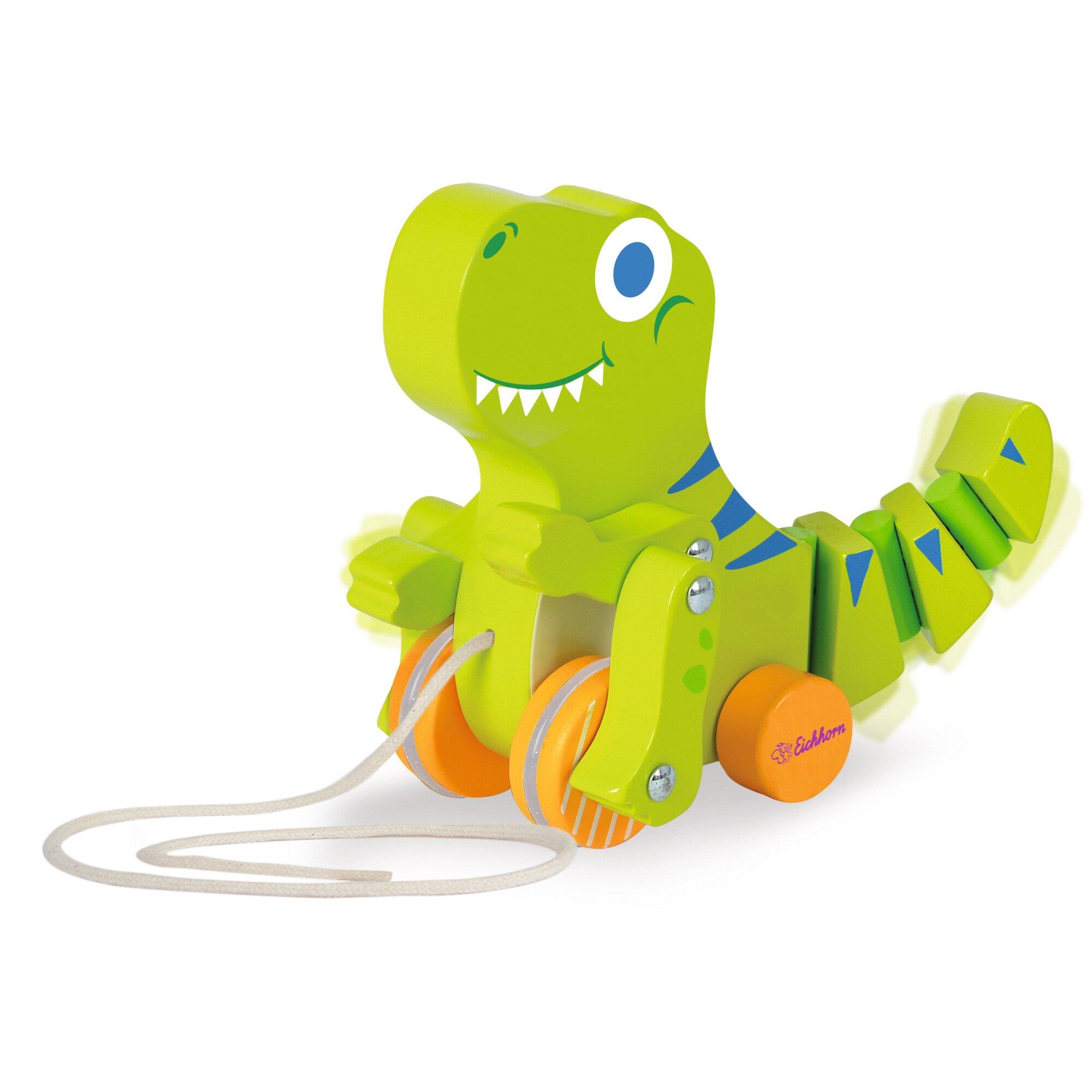 eichhorn-nachziehspielzeug-dinosaurier