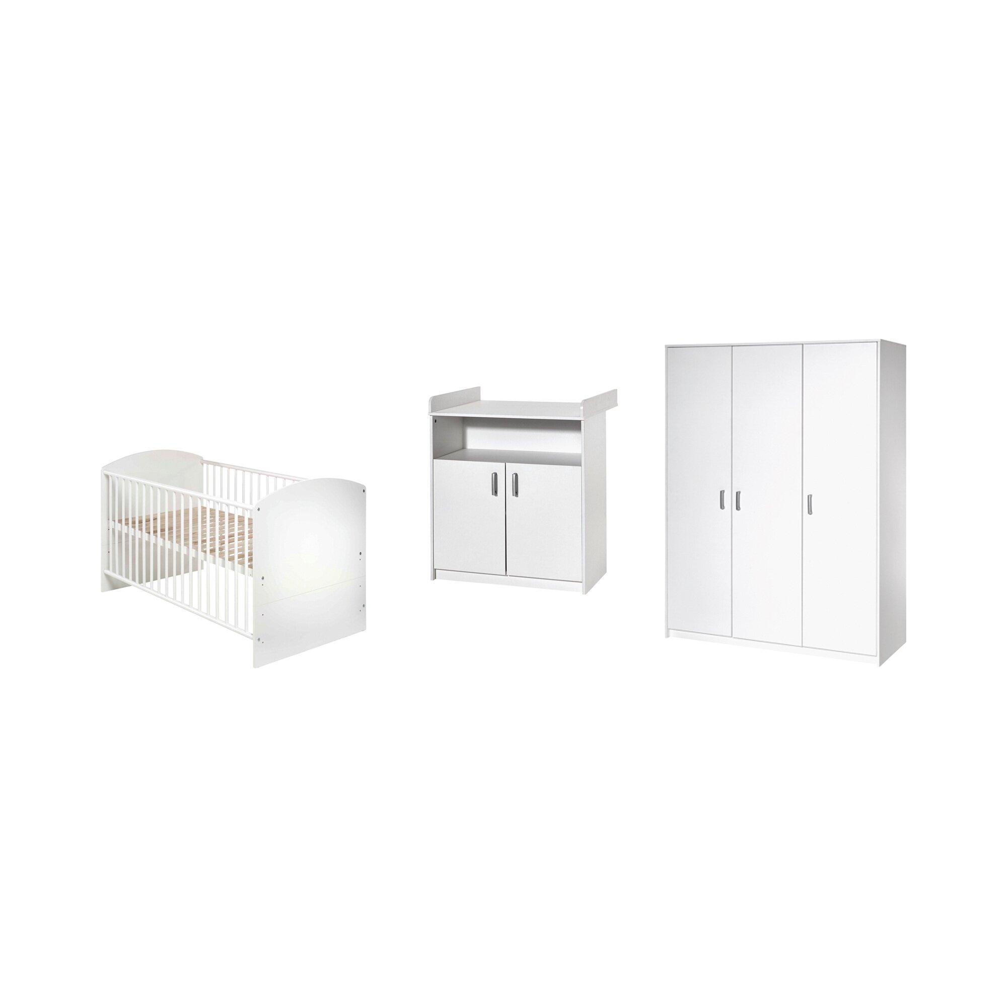 schardt-3-tlg-babyzimmer-classic-white-mit-3-turigem-kleiderschrank