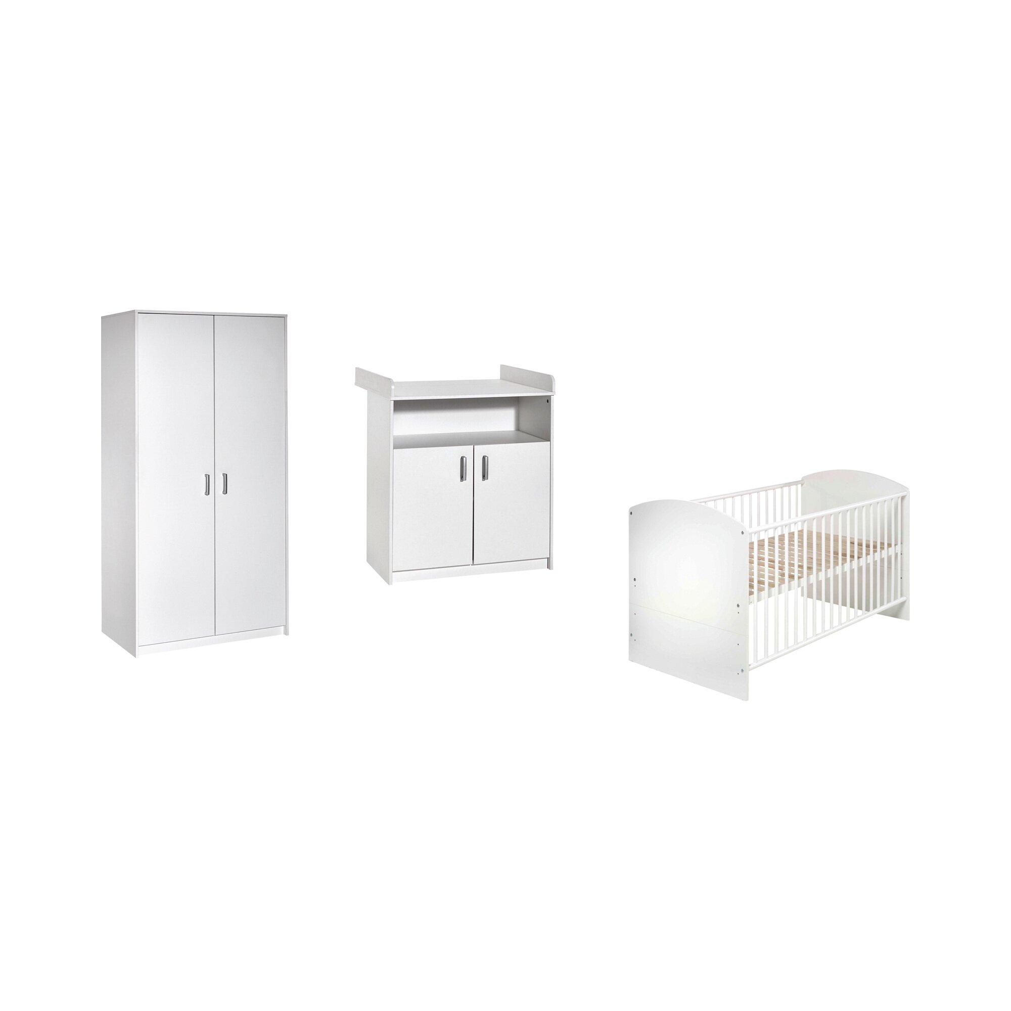 schardt-3-tlg-babyzimmer-classic-white-mit-2-turigem-kleiderschrank