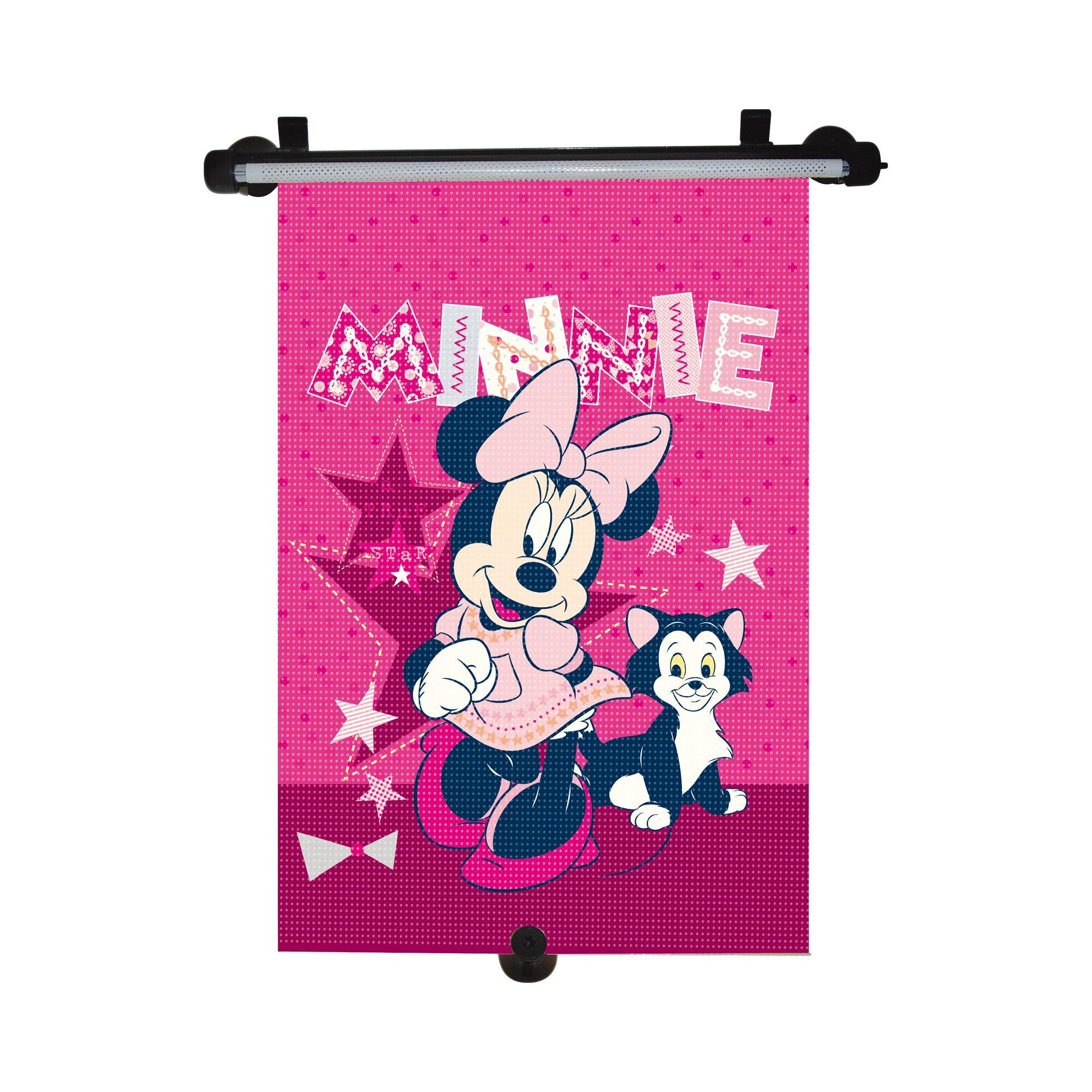 Minnie Mouse Sonnenschutzrollo pink