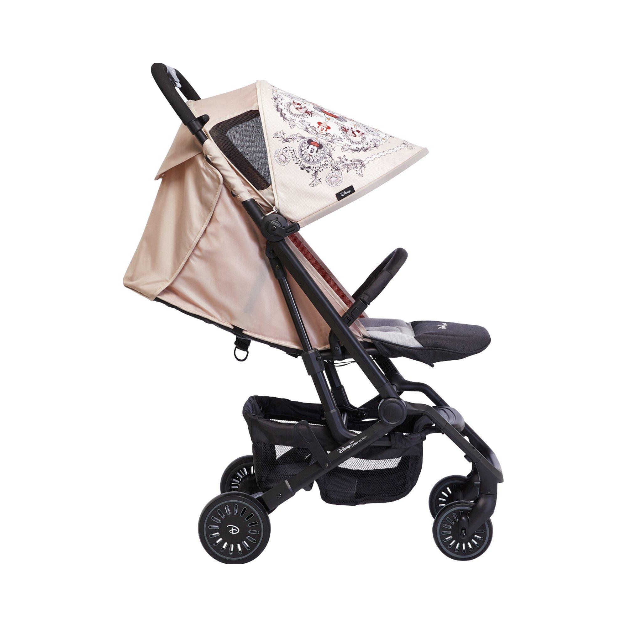 easywalker-buggy-xs-disney-mit-liegefunktion-rosa, 249.99 EUR @ babywalz-de