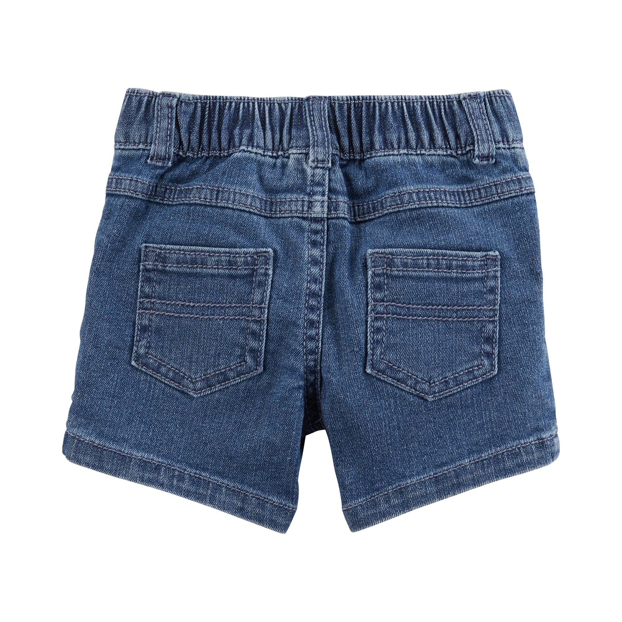 carter-s-2-tlg-set-t-shirt-flugelarm-und-jeansshorts-ringel