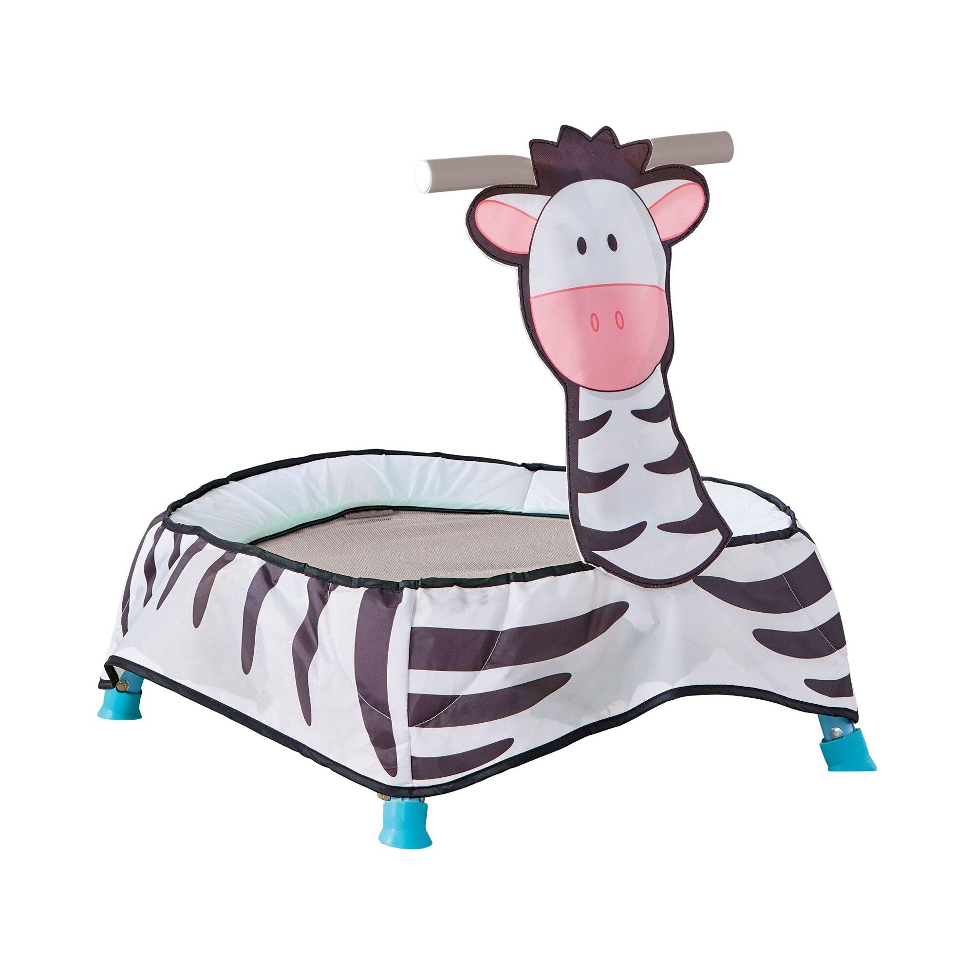 Worlds Apart Trampolin Zebra