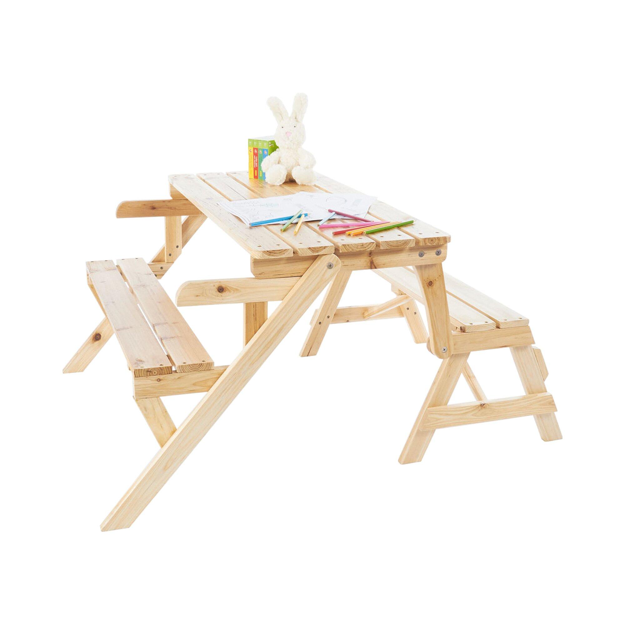 Pinolino 2 in 1 Kindersitzgarnitur und Gartenbank Elli