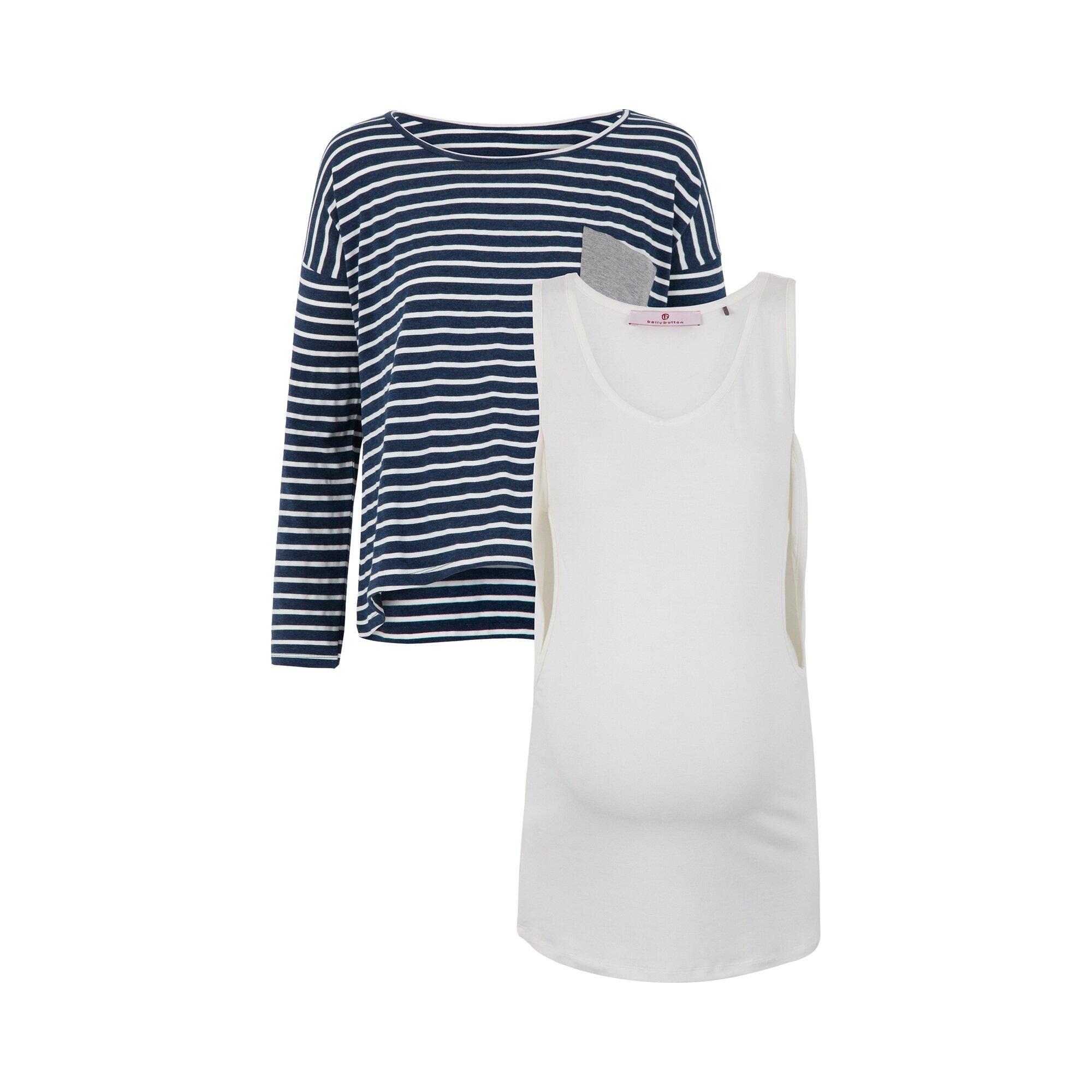 bellybutton-2-tlg-set-umstandsshirt-und-stillshirt-und-umstands-top