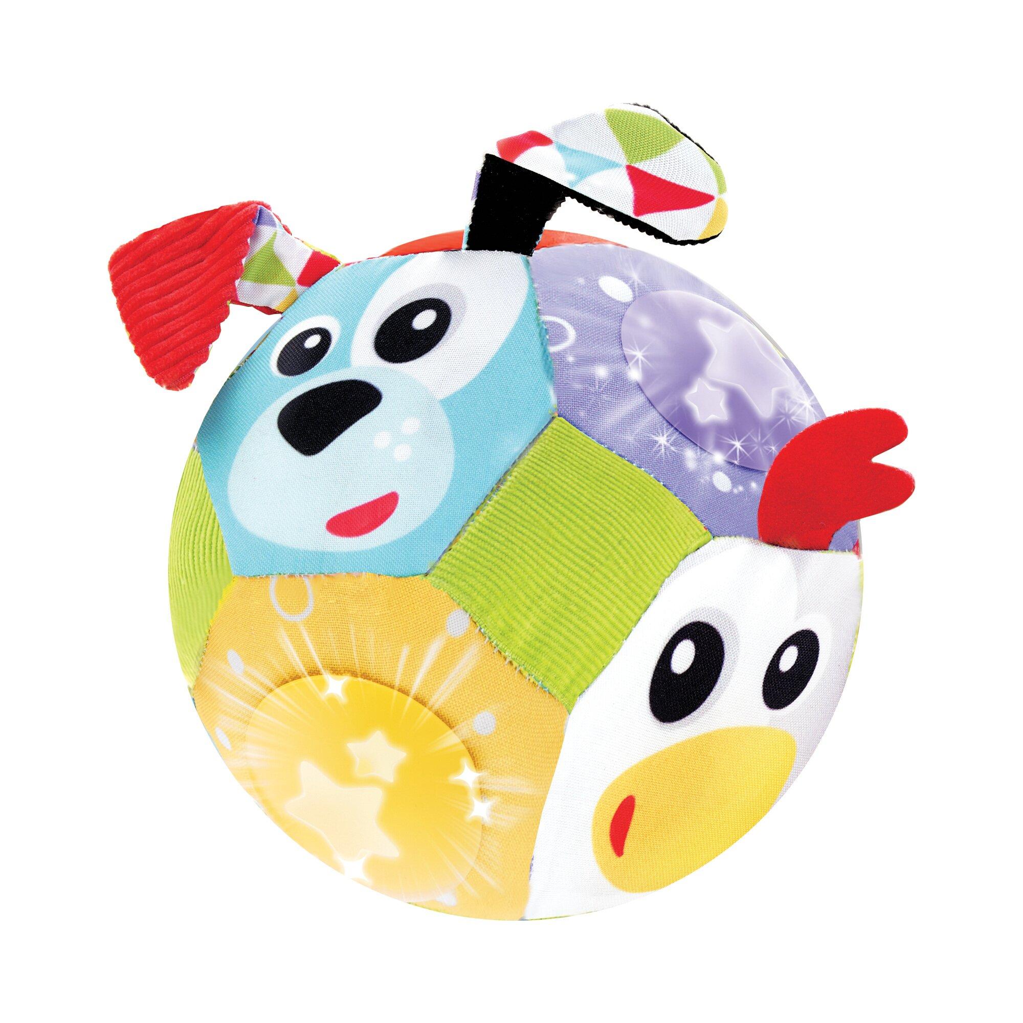 Yookidoo Stoffball mit Licht und Musik
