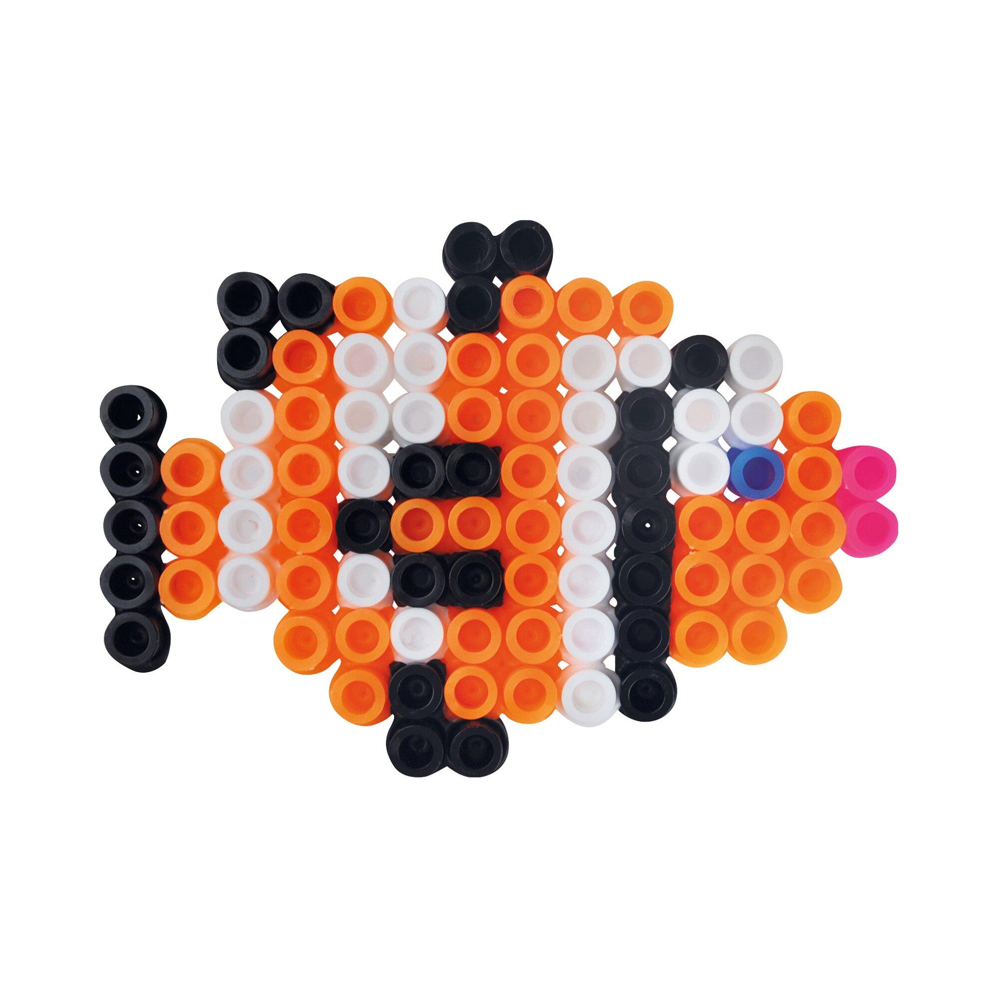 playbox-bugelperlen-set-xl-schmetterling-fisch-250-perlen