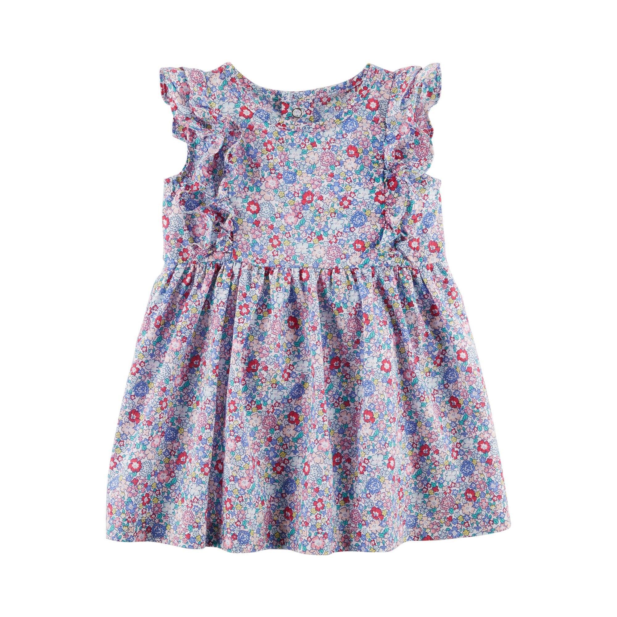 Carter´S Kleid mit Flügelarm Blumen