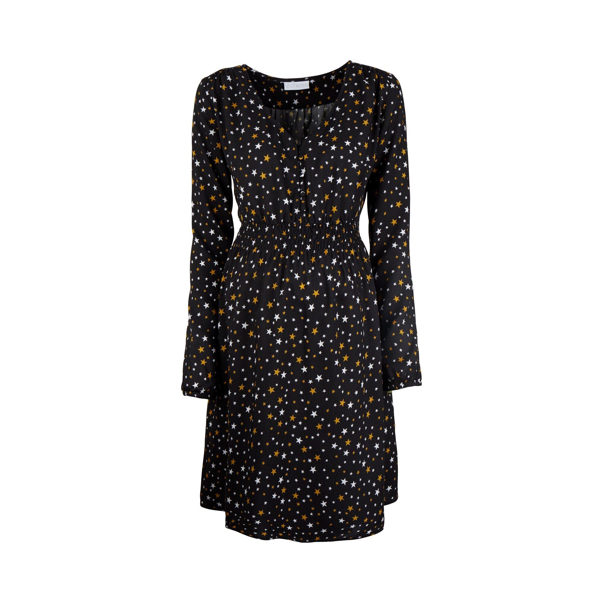 Cosy & Wild Umstands- und Still-Kleid Stars