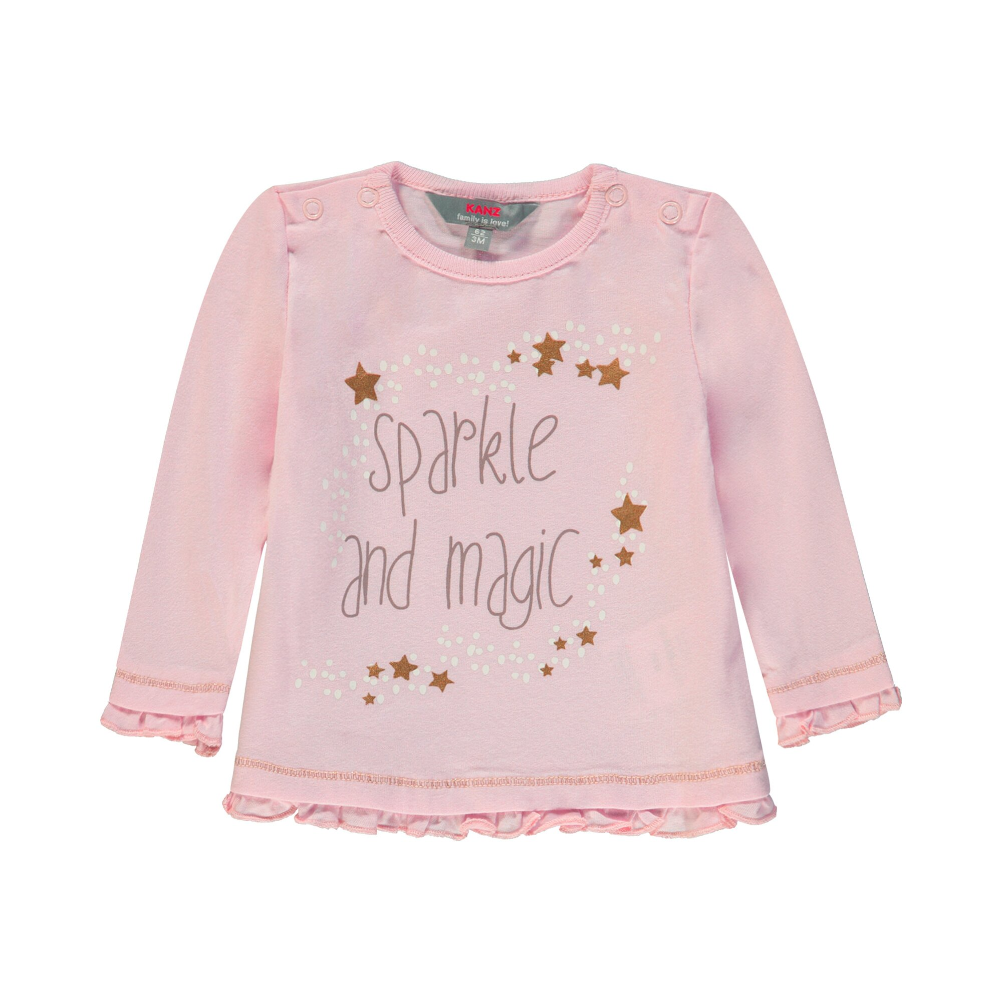 Kanz Shirt langarm Sparkle and magic