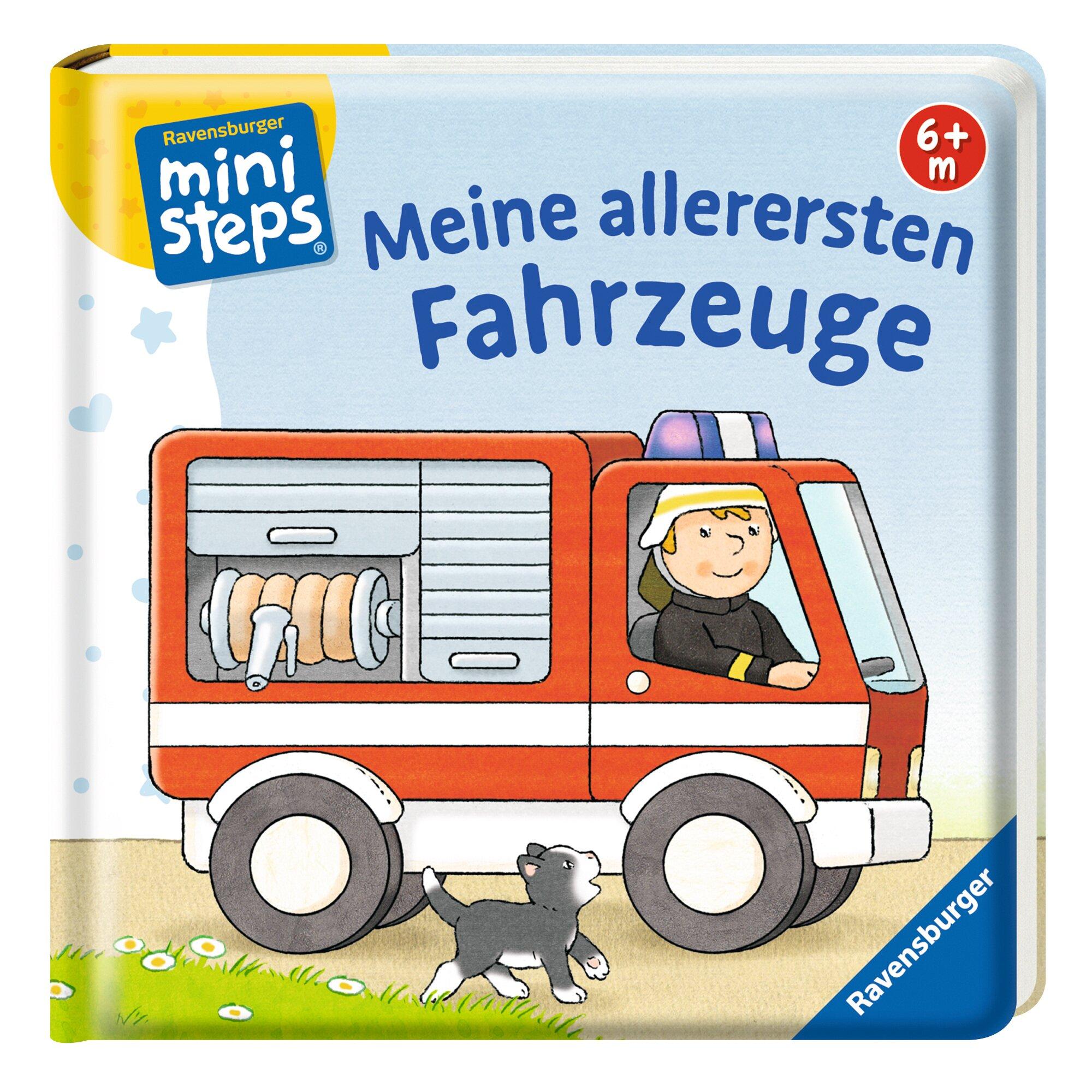Ministeps Pappbilderbuch Meine allerersten Fahrzeuge