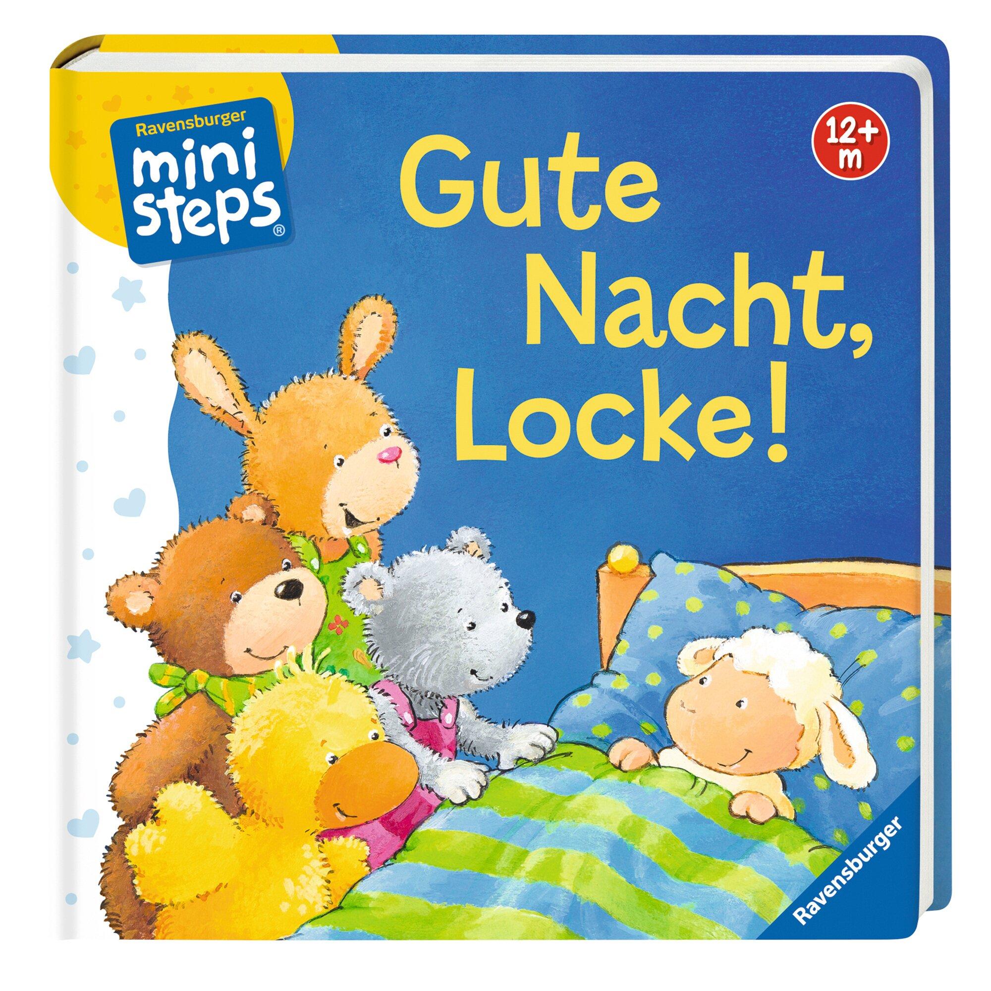 Ministeps Pappbilderbuch Gute Nacht, Locke!