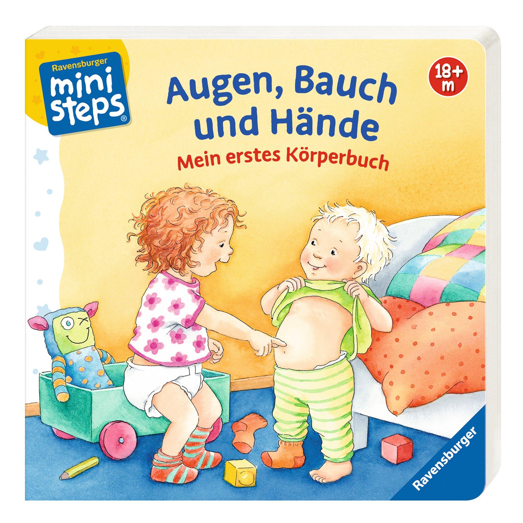 Ministeps Sachbuch Augen, Bauch und Hände - Mein erstes Körperbuch