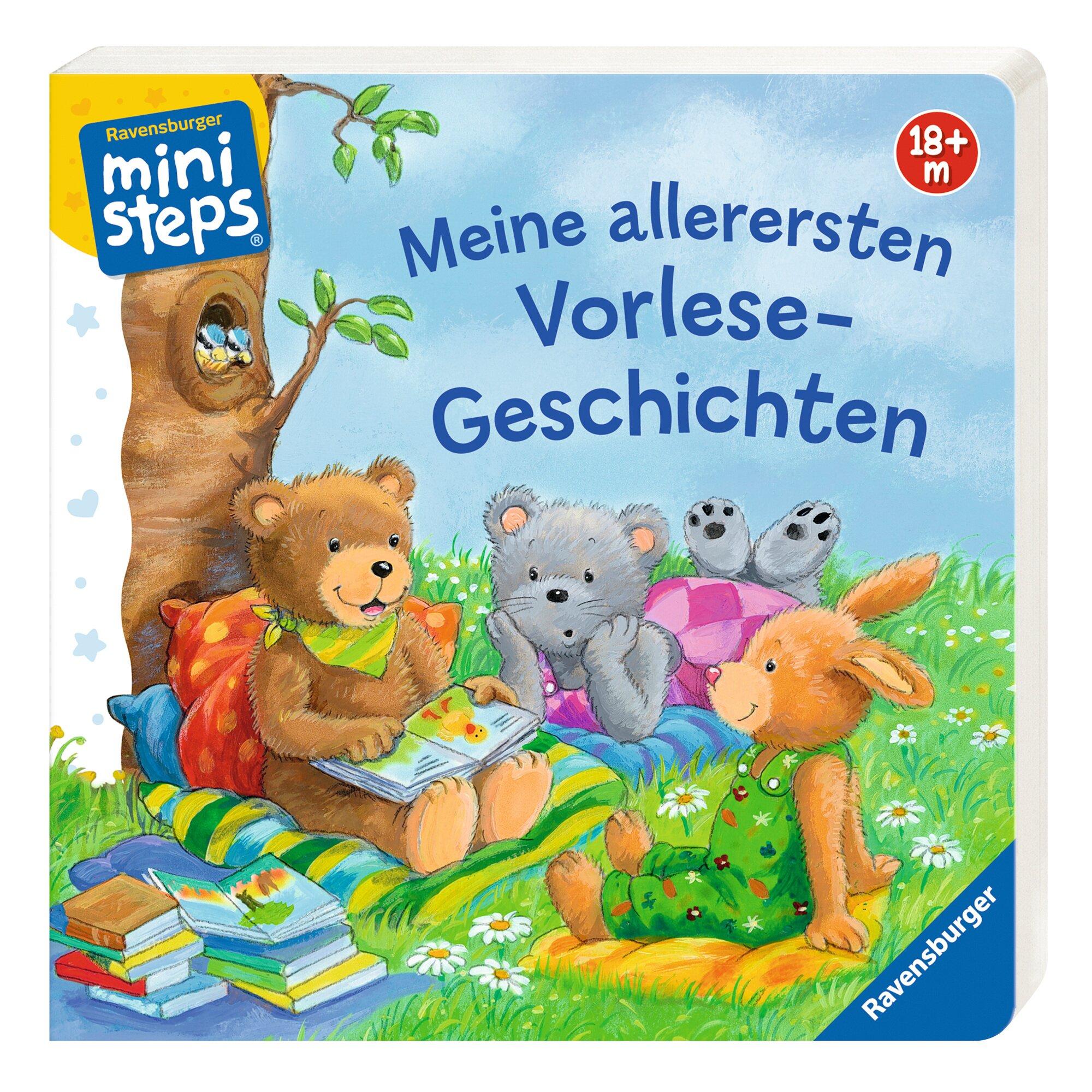 Ministeps Pappbilderbuch Meine allerersten Vorlese-Geschichten