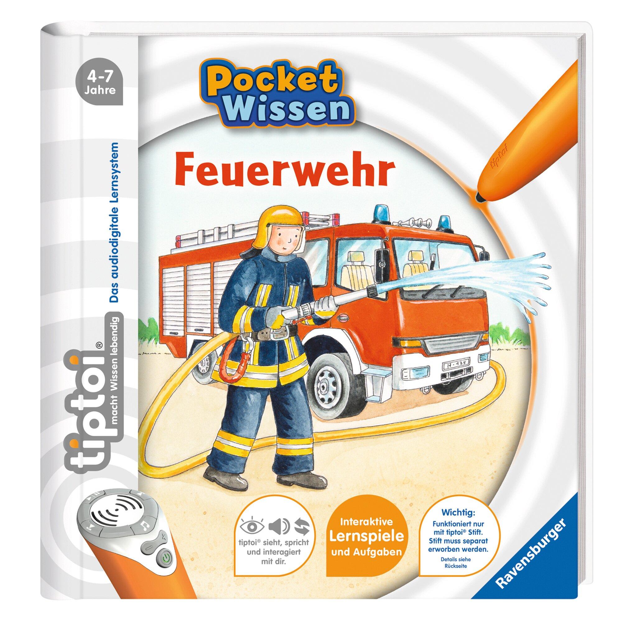 Tiptoi Pocket Wissen - Feuerwehr