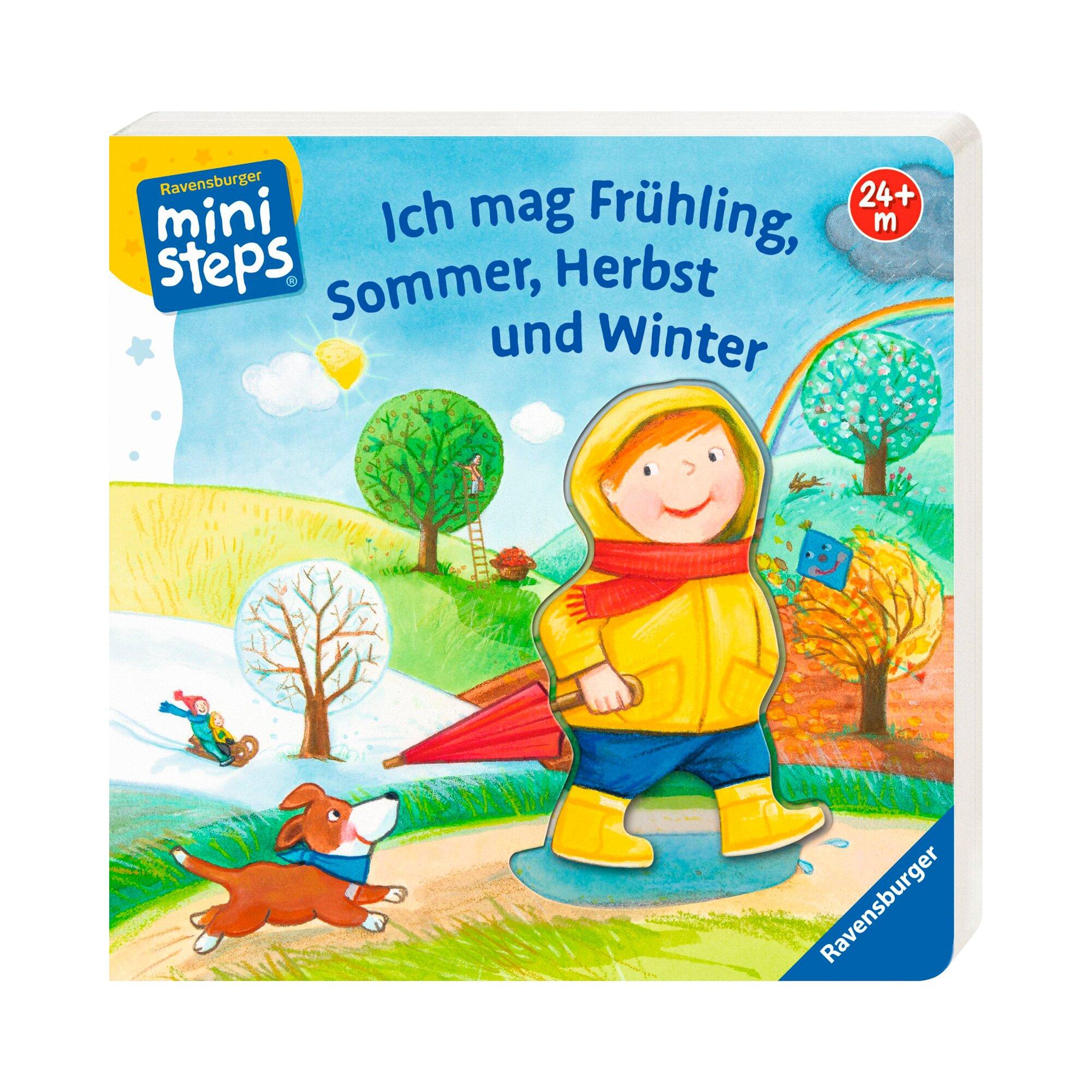 Ministeps Pappbilderbuch Ich mag Frühling, Sommer, Herbst und Winter