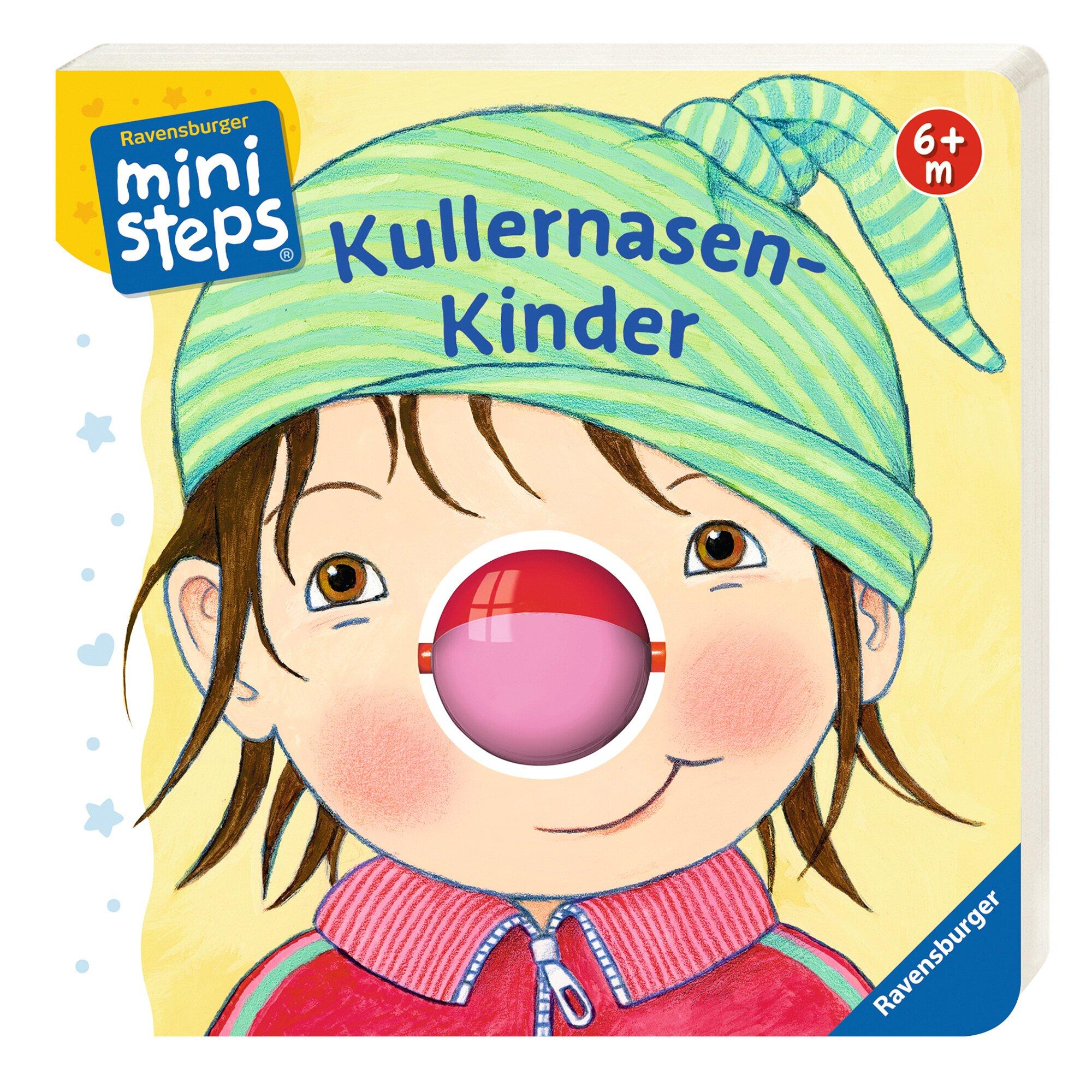 Ministeps Fühlbuch Kullernasen-Kinder