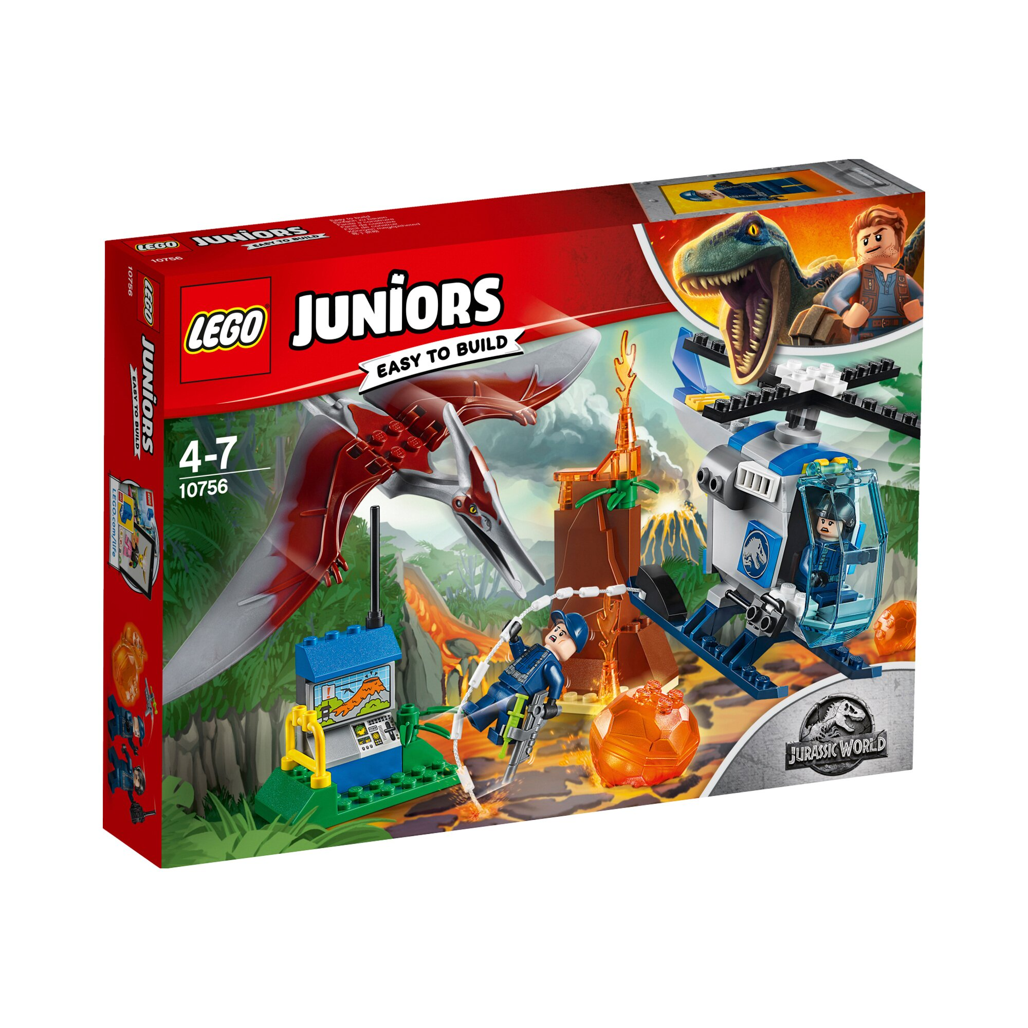 Juniors 10756 Flucht vor dem Pteranodon