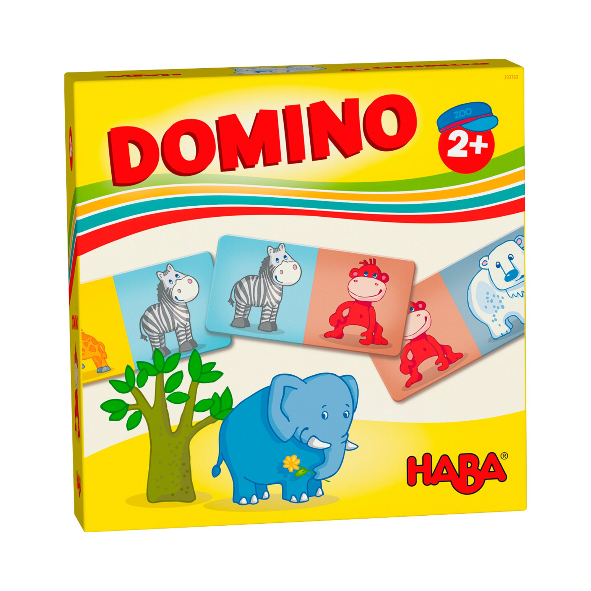 Haba Domino Zootiere