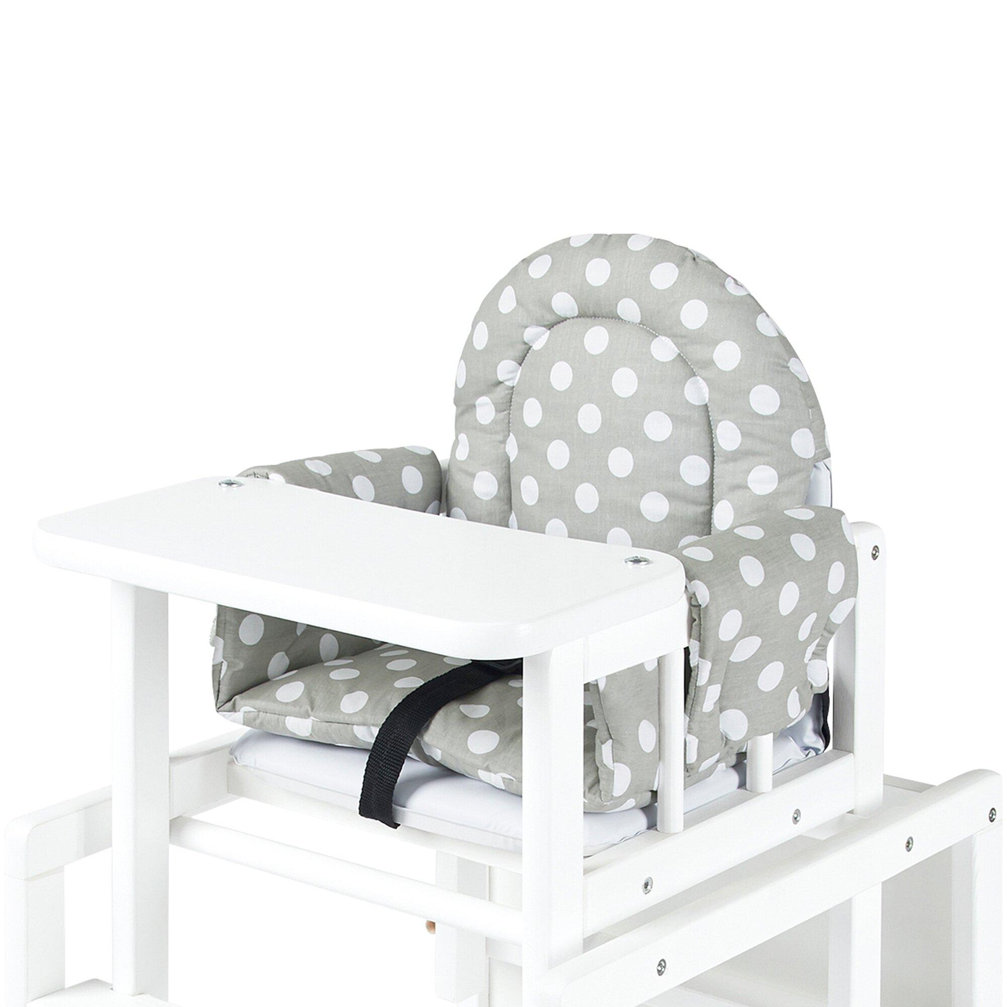 Pinolino Sitzkissen für Kombi-Hochstuhl Lene und Schaukelpferde mit Ring