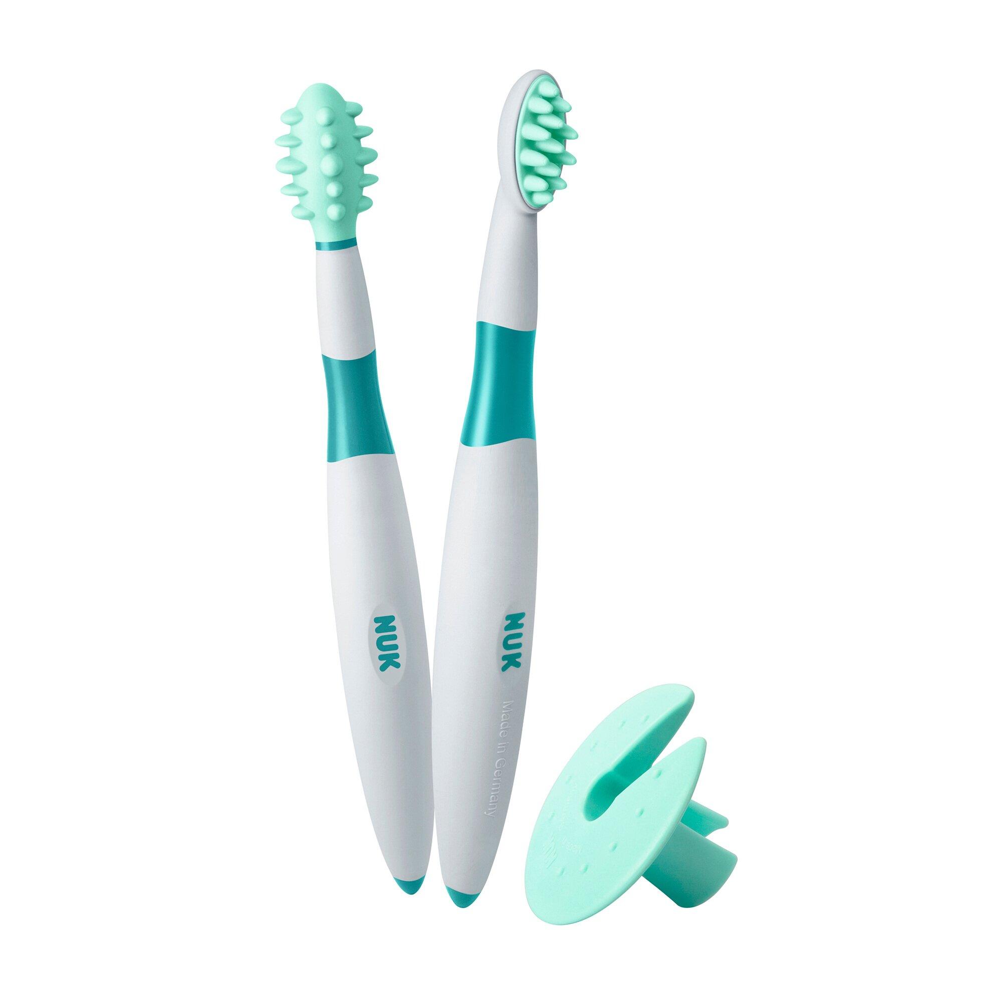 Zahnpflege Lernset mit Schutzkappe 3-tlg.