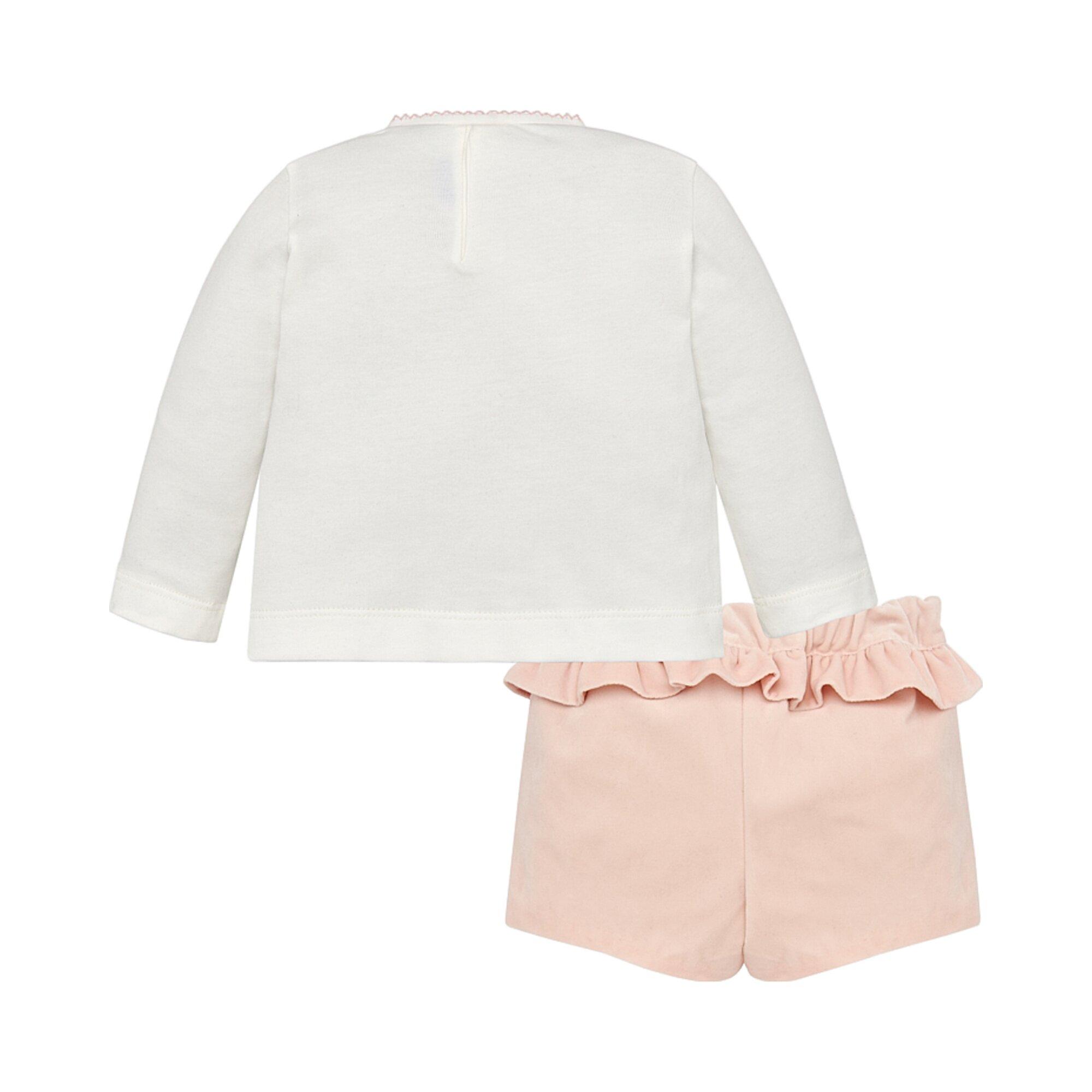 mayoral-2-tlg-set-shirt-langarm-und-samt-shorts-haus
