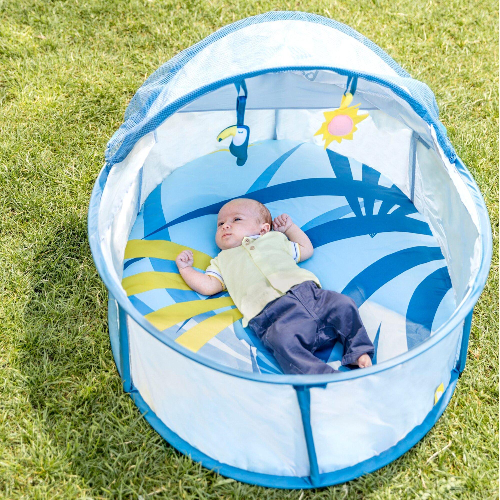 babymoov-reise-strandbett-little-babyni-tropical-mit-uv-schutz