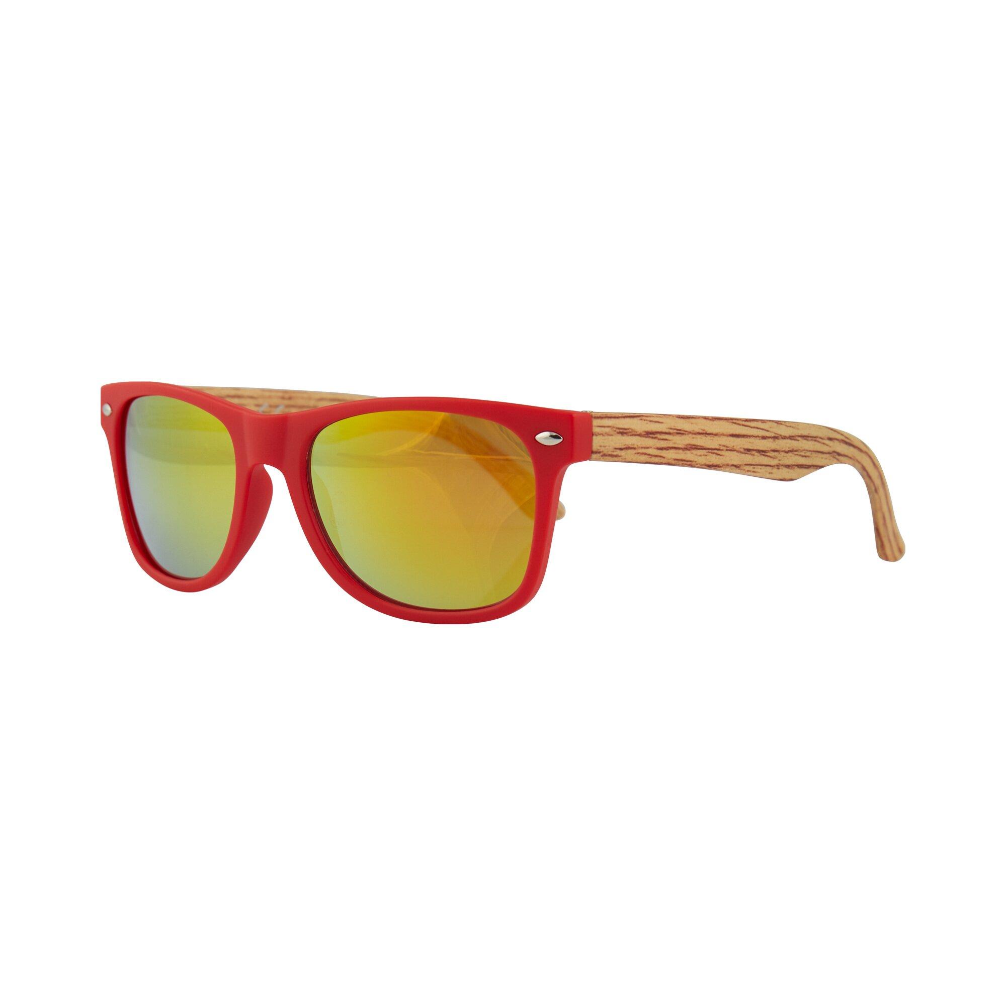 Inca Accessoires Kids-Sonnenbrille Holzoptik-Bügel