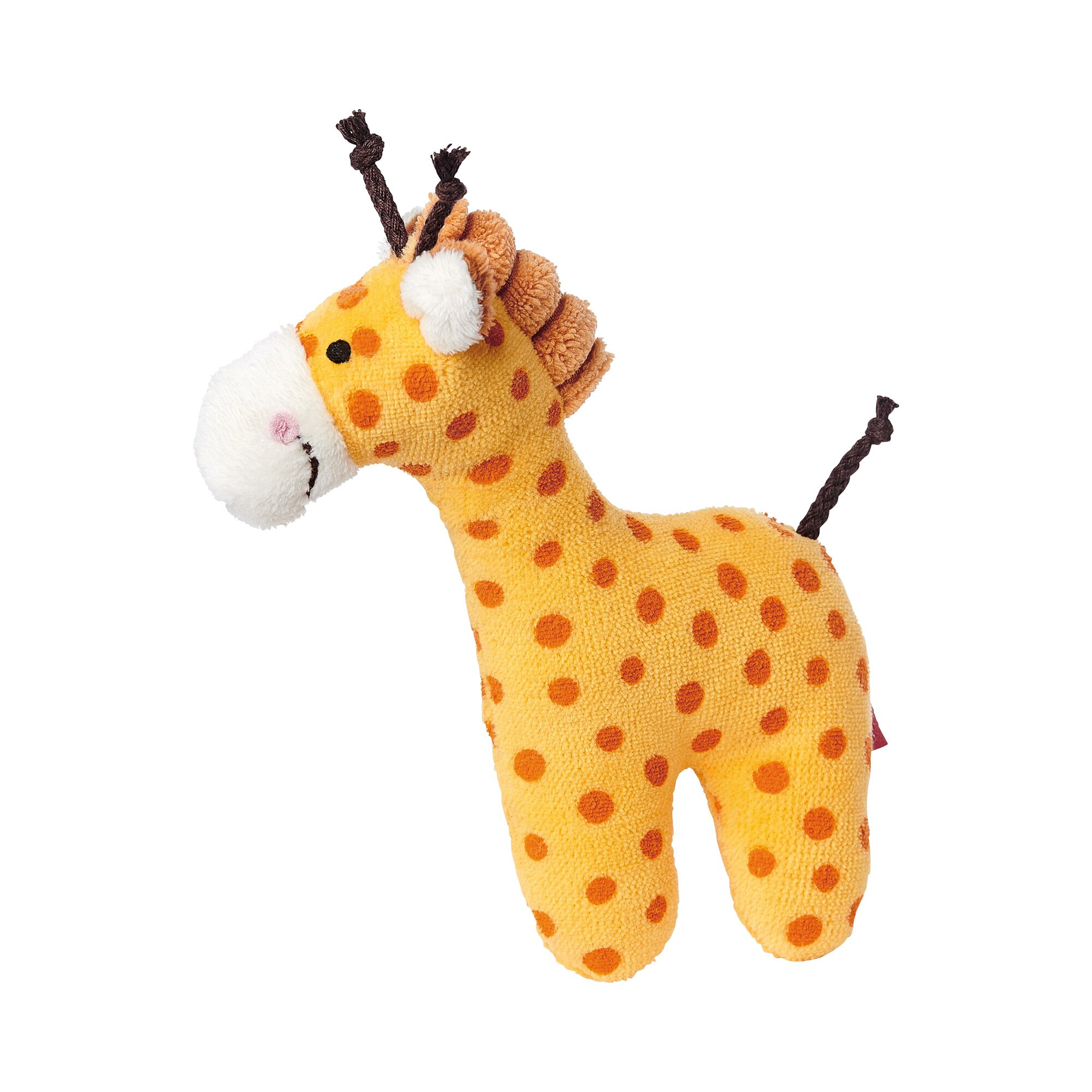 Sigikid Rassel Giraffe Red Stars Collection