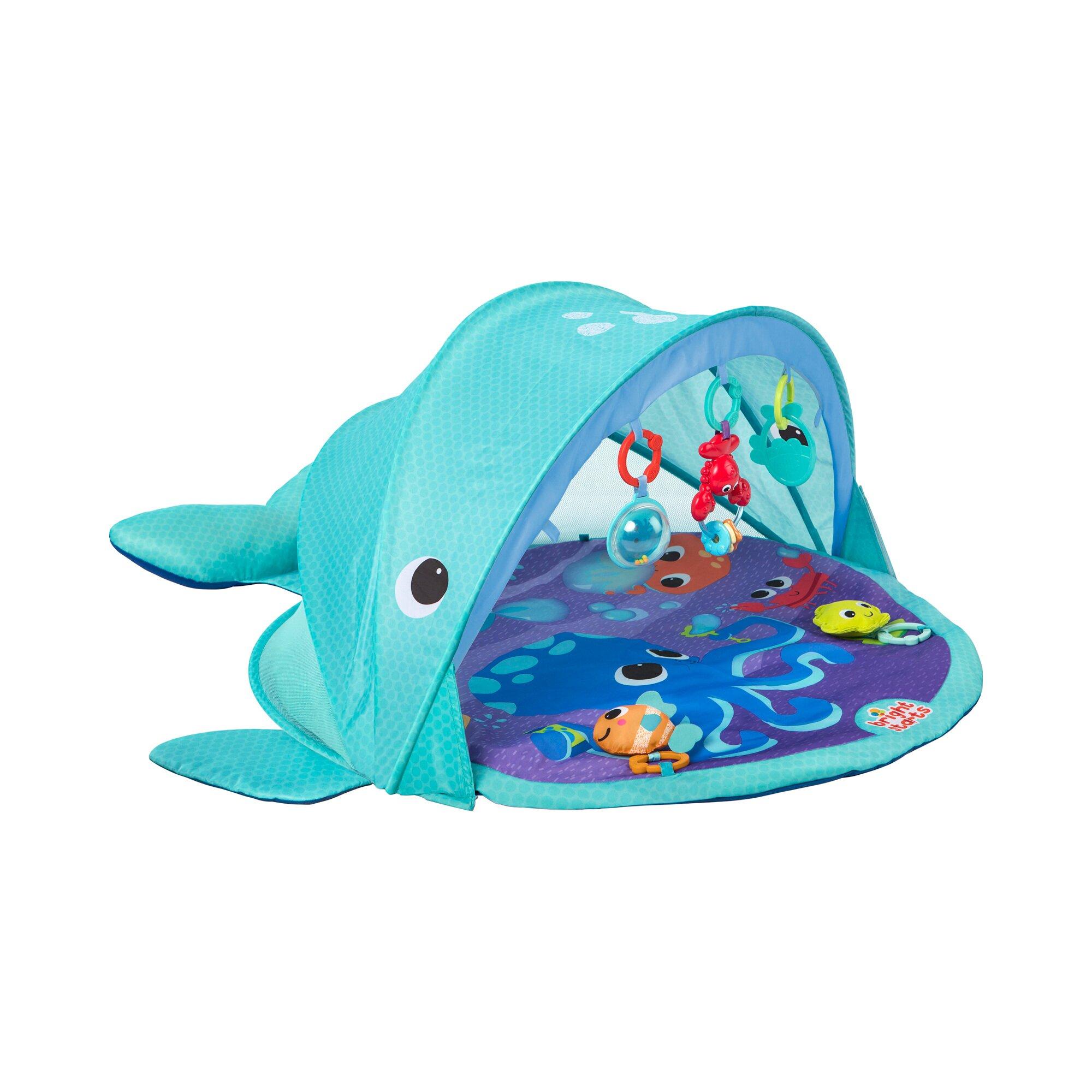 Bright Starts Strand- & Spieldecke Wal