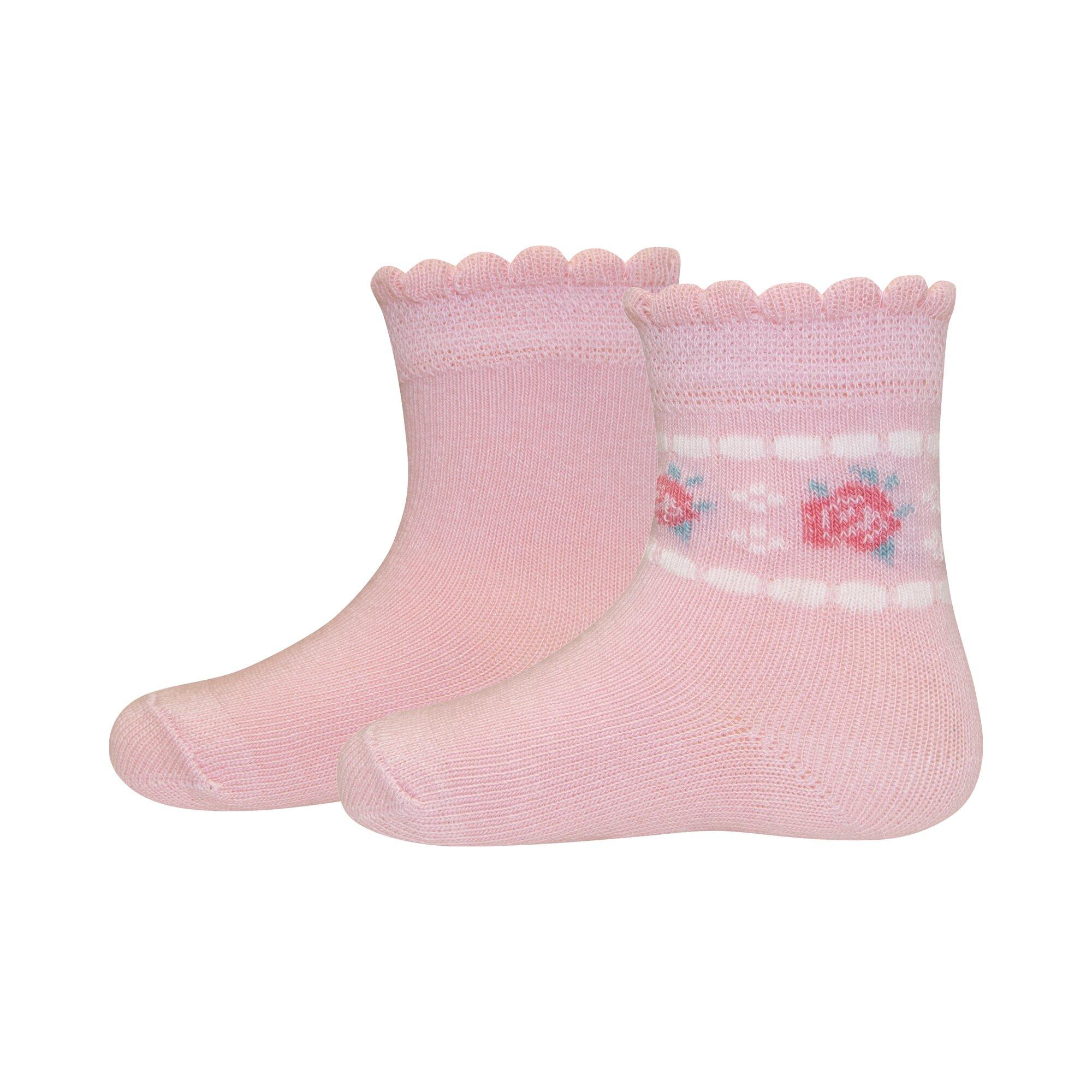 Ewers 2er-Pack Socken Rose