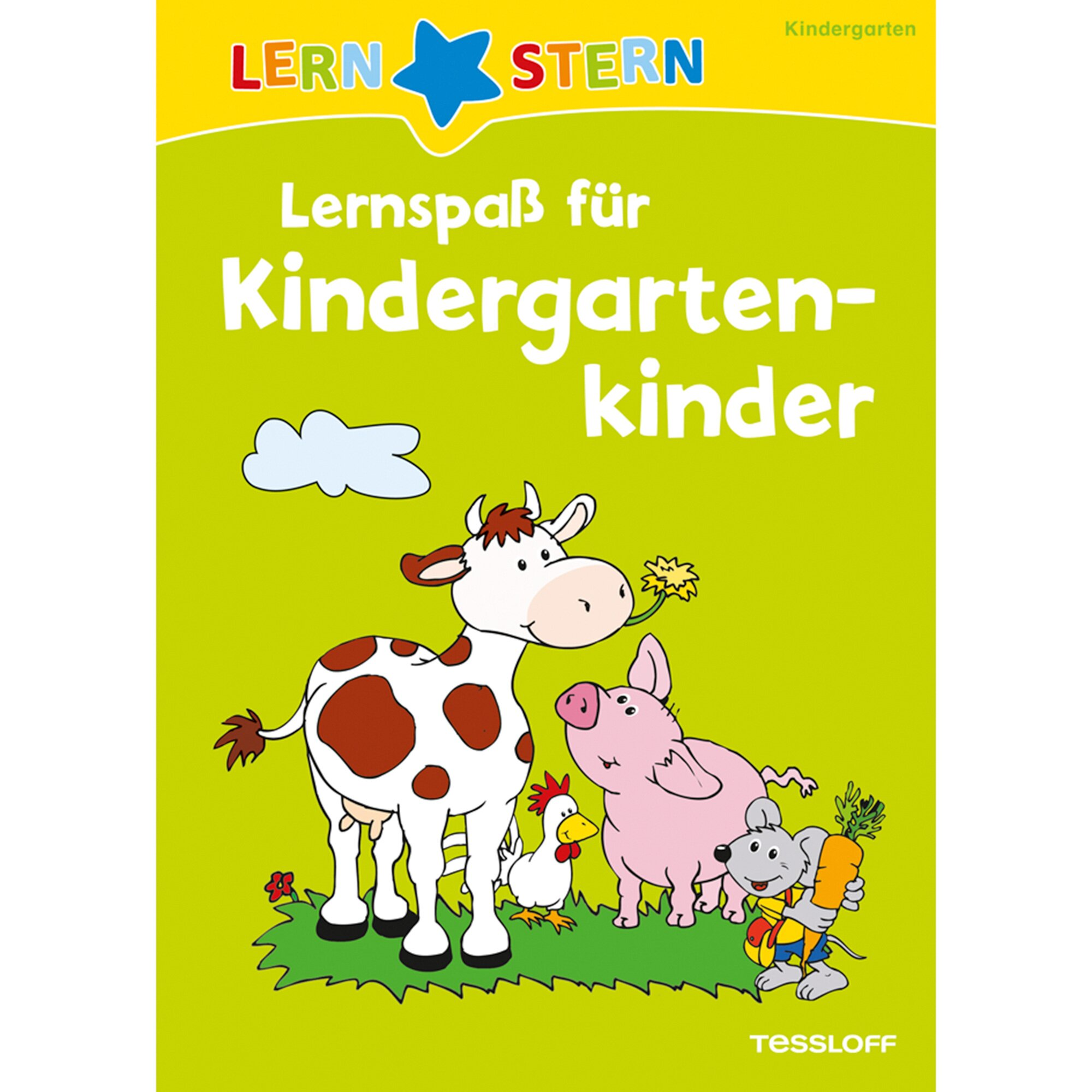 Tessloff Verlag Lernspaß für Kindergartenkinder Lernstern