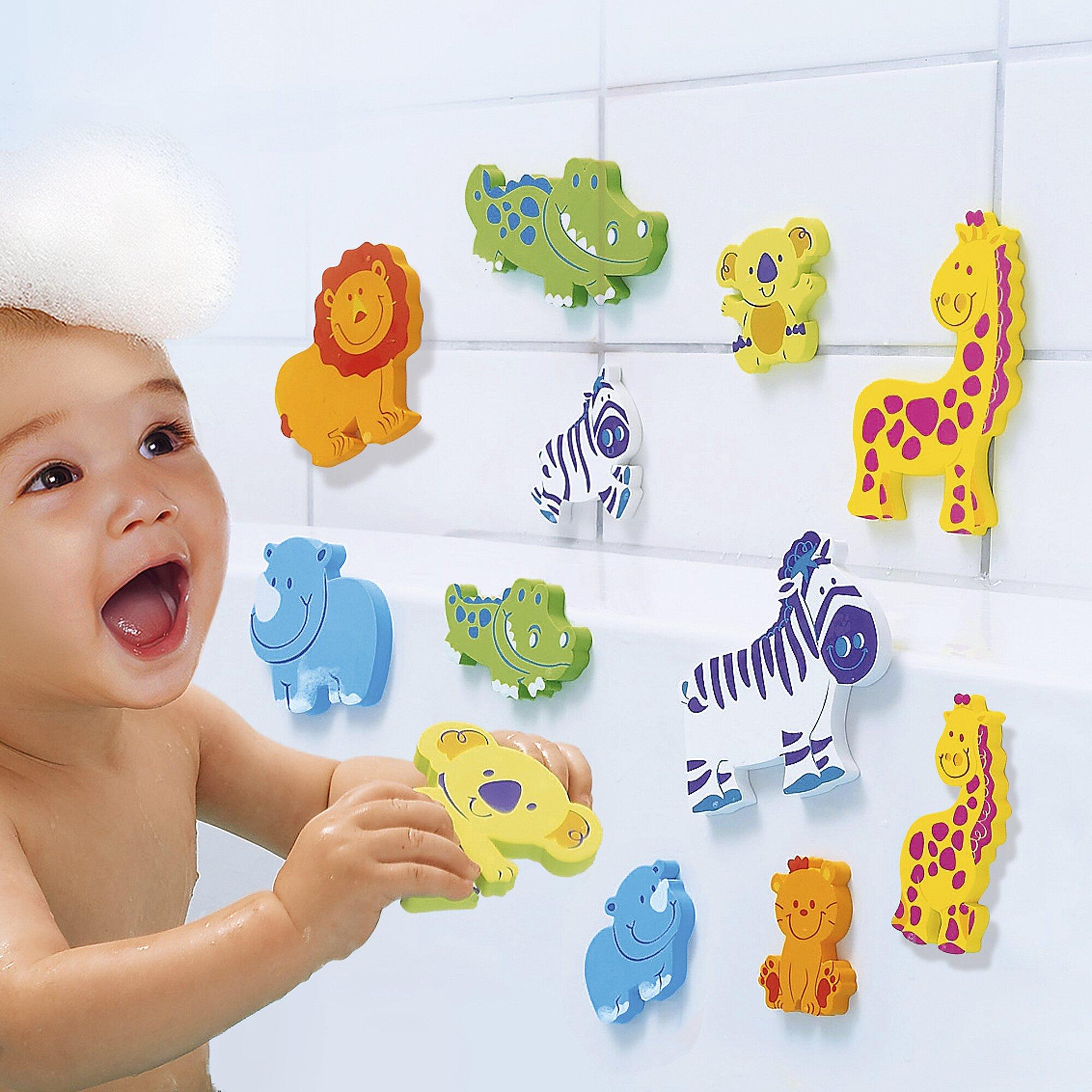 Jouets pour le bain chambre enfants for Rack pour le bain