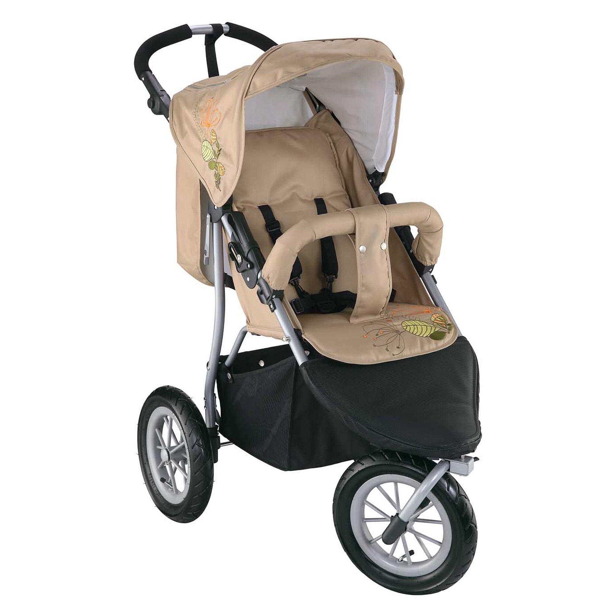 Knorr-Baby Joggy S Kinderwagen Sportwagen beige