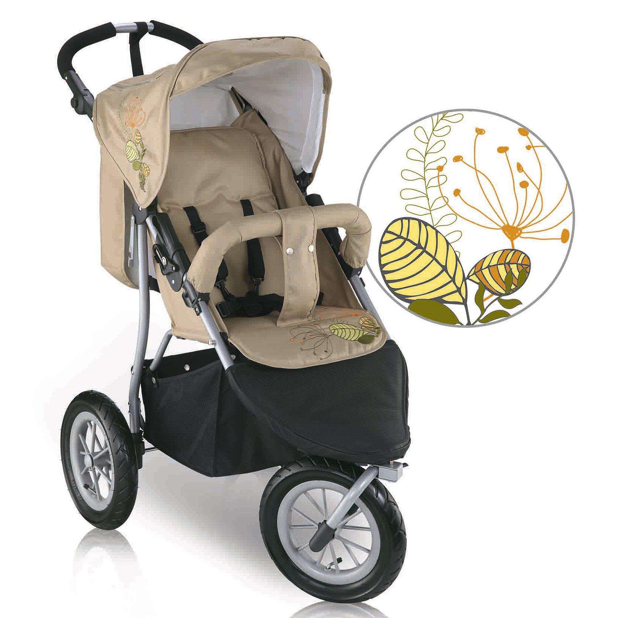 knorr-baby-joggy-s-kinderwagen-sportwagen-beige