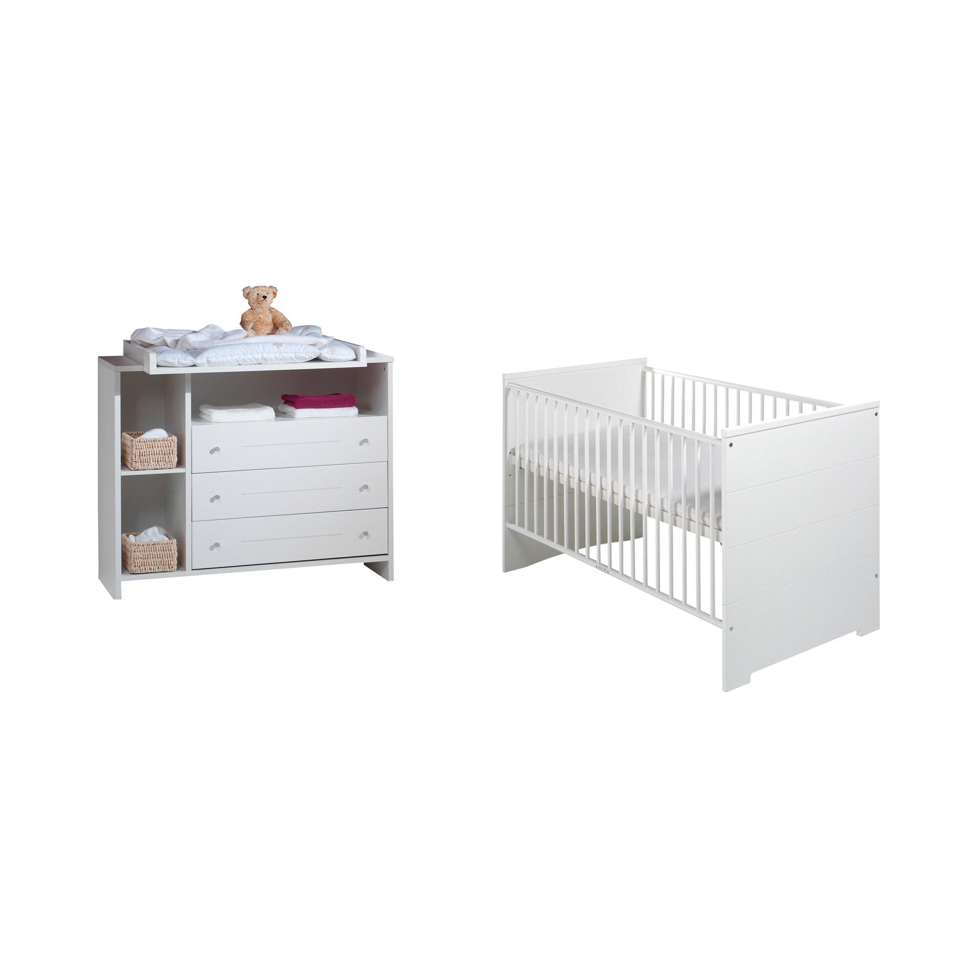 Schardt 2-tlg. Babyzimmer Eco Stripe