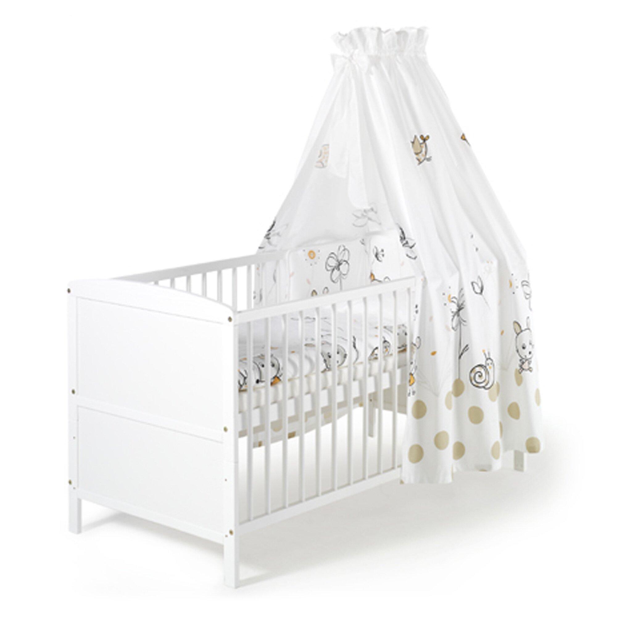 Schardt Babybett mit Ausstattung Conny 70x140 cm