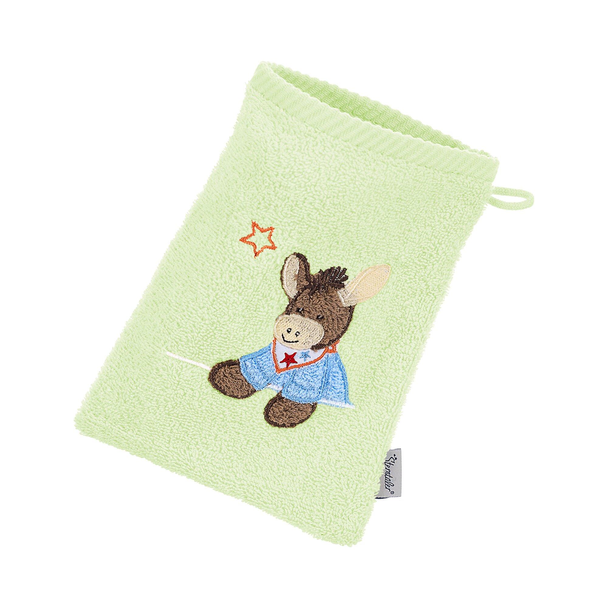 sterntaler-waschhandschuh-emmi-gruen