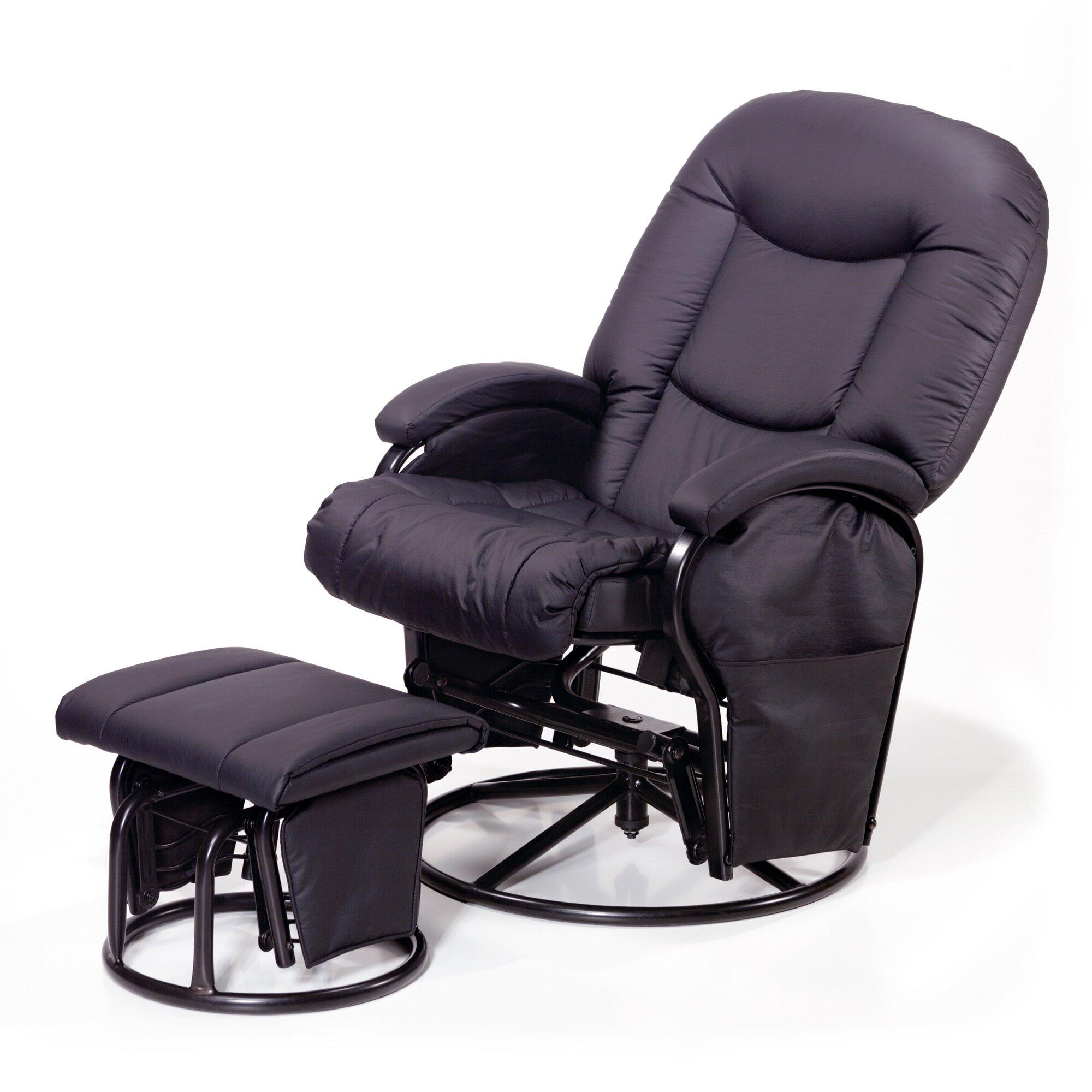 hauck-stillsessel-metal-glider-recline-schwarz