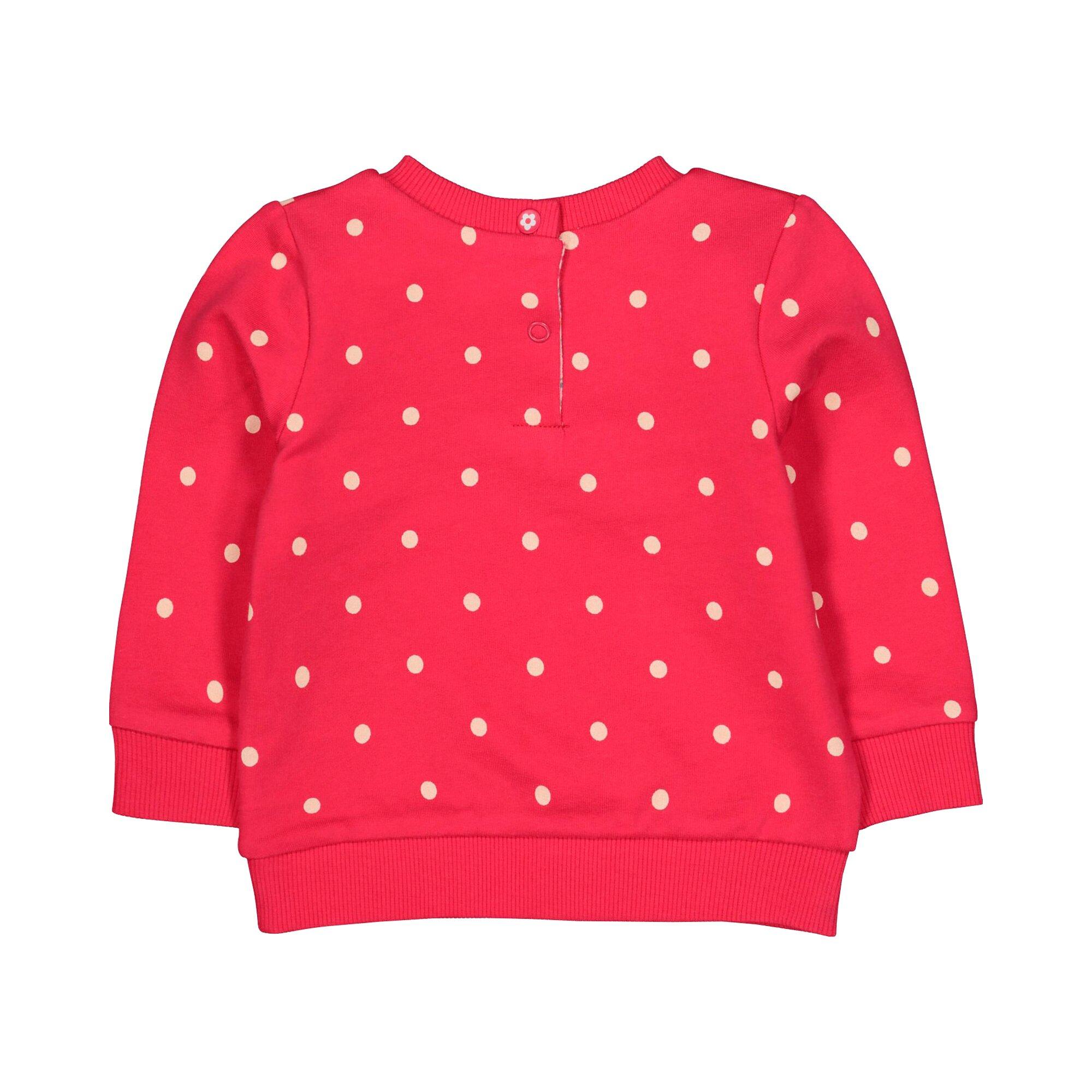 mothercare-sweatshirt-punkte-und-blumen