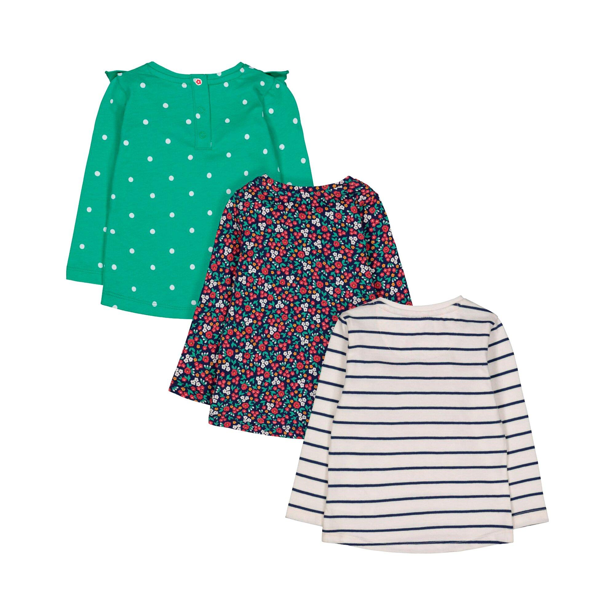 mothercare-3er-pack-shirts-langarm-blumen-punkte-und-ringel