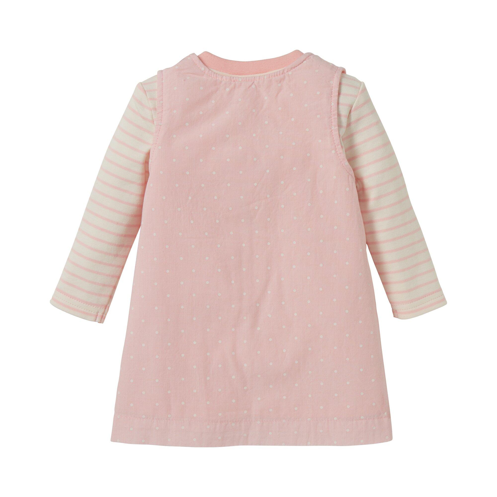 seaside-2-tlg-set-webkleid-und-shirt-langarm